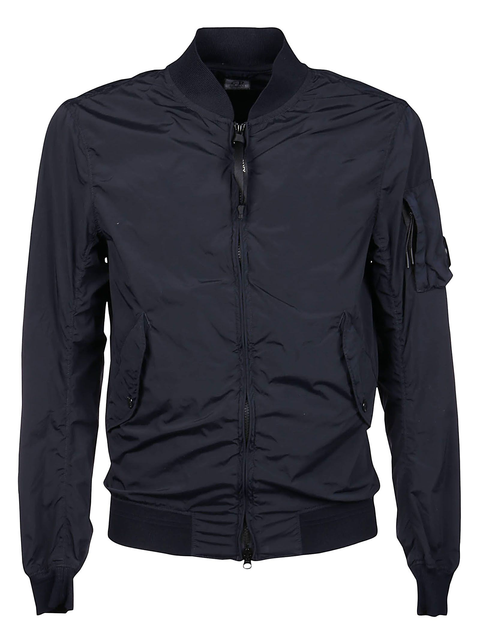 C.p. Company CP COMPANY MEN'S 10CMOW166A005864G888 BLUE OTHER MATERIALS OUTERWEAR JACKET