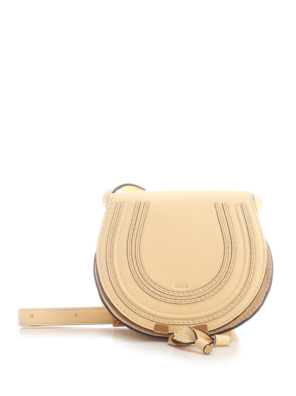 Chloé CHLO WOMEN'S CHC11SP580161752 YELLOW OTHER MATERIALS SHOULDER BAG
