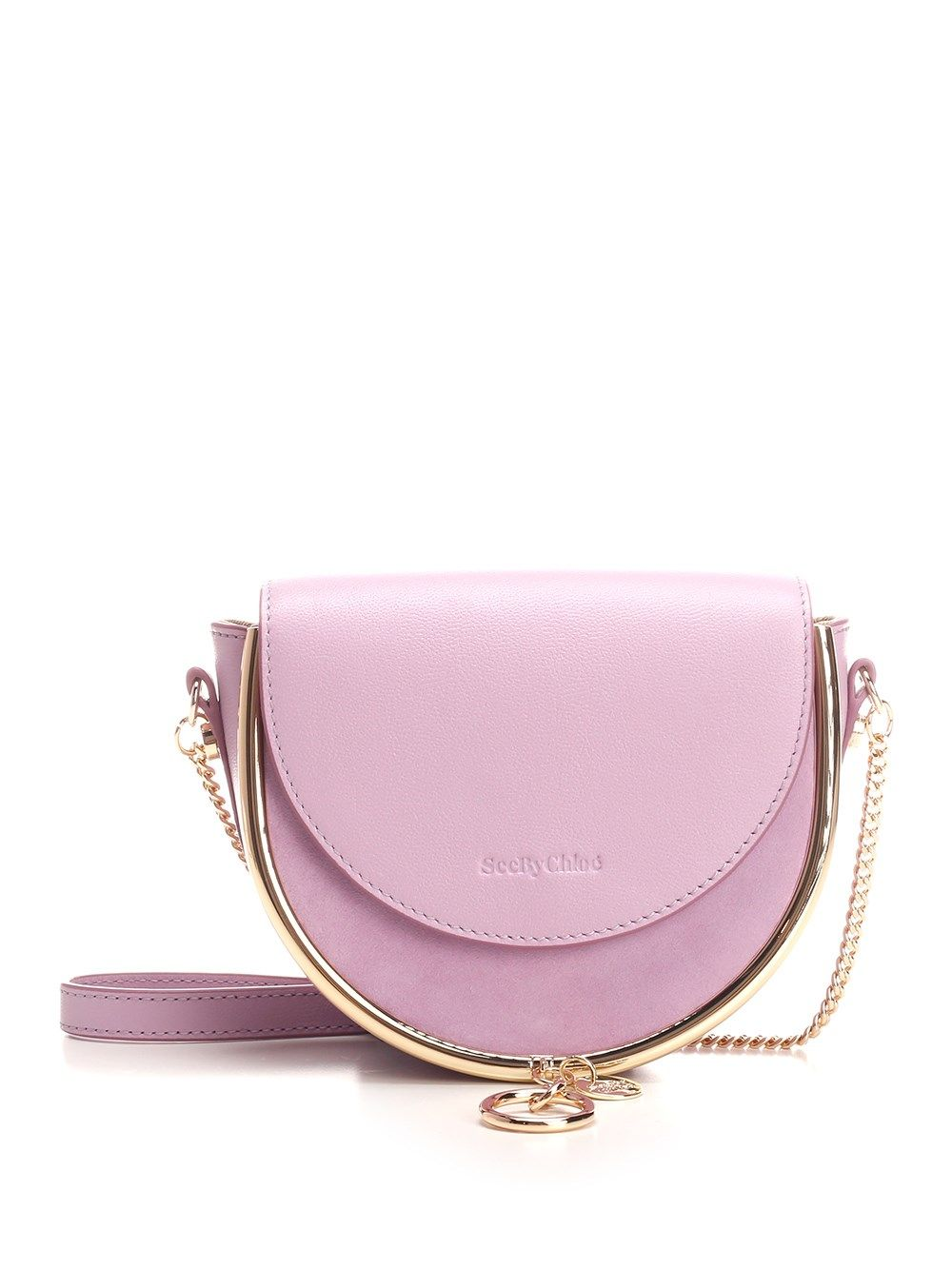 See By Chloé SEE BY CHLO WOMEN'S CHS20ASA57820599 PURPLE OTHER MATERIALS SHOULDER BAG