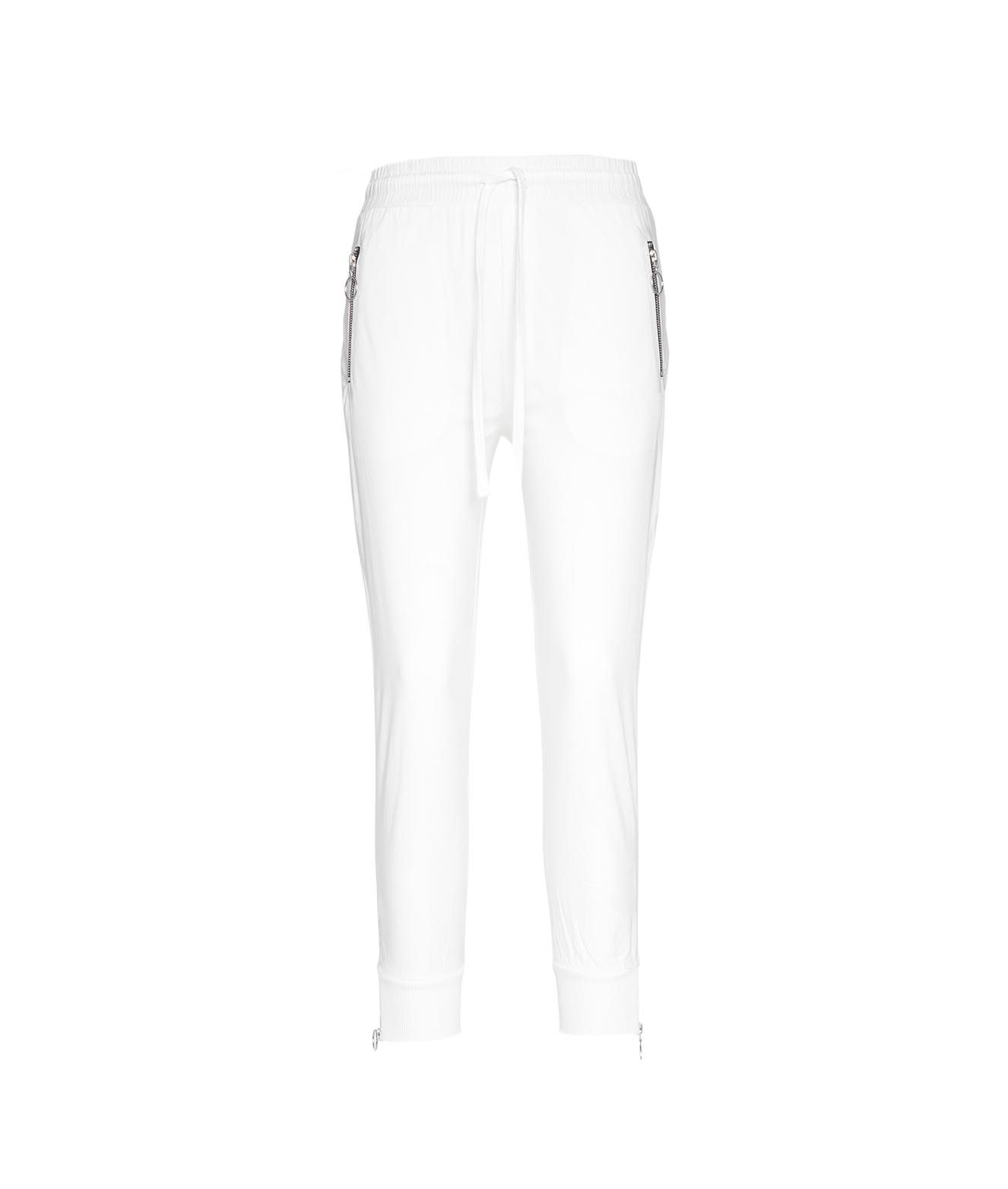 Thom Krom THOM KROM WOMEN'S WST25811WHITE WHITE OTHER MATERIALS PANTS