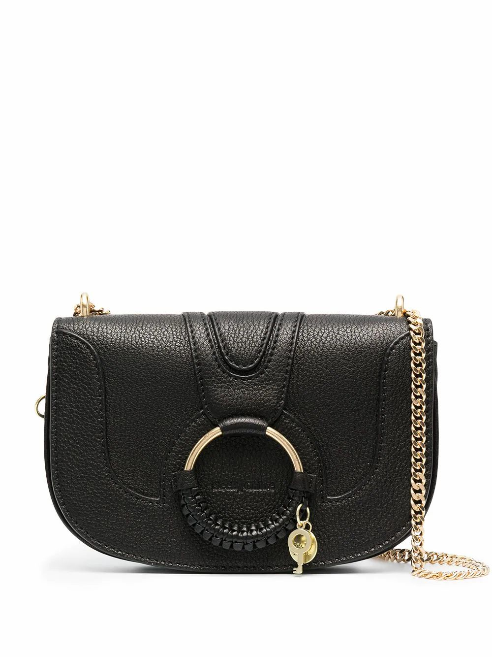See By Chloé SEE BY CHLO WOMEN'S CHS20WSA87305001 BLACK LEATHER SHOULDER BAG