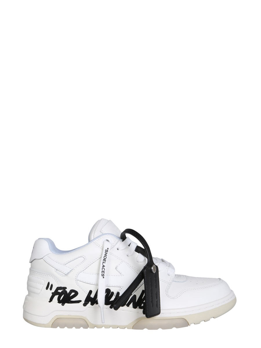 """Off-White Leathers Off-White """"OUT OF OFFICE"""" SNEAKERS"""