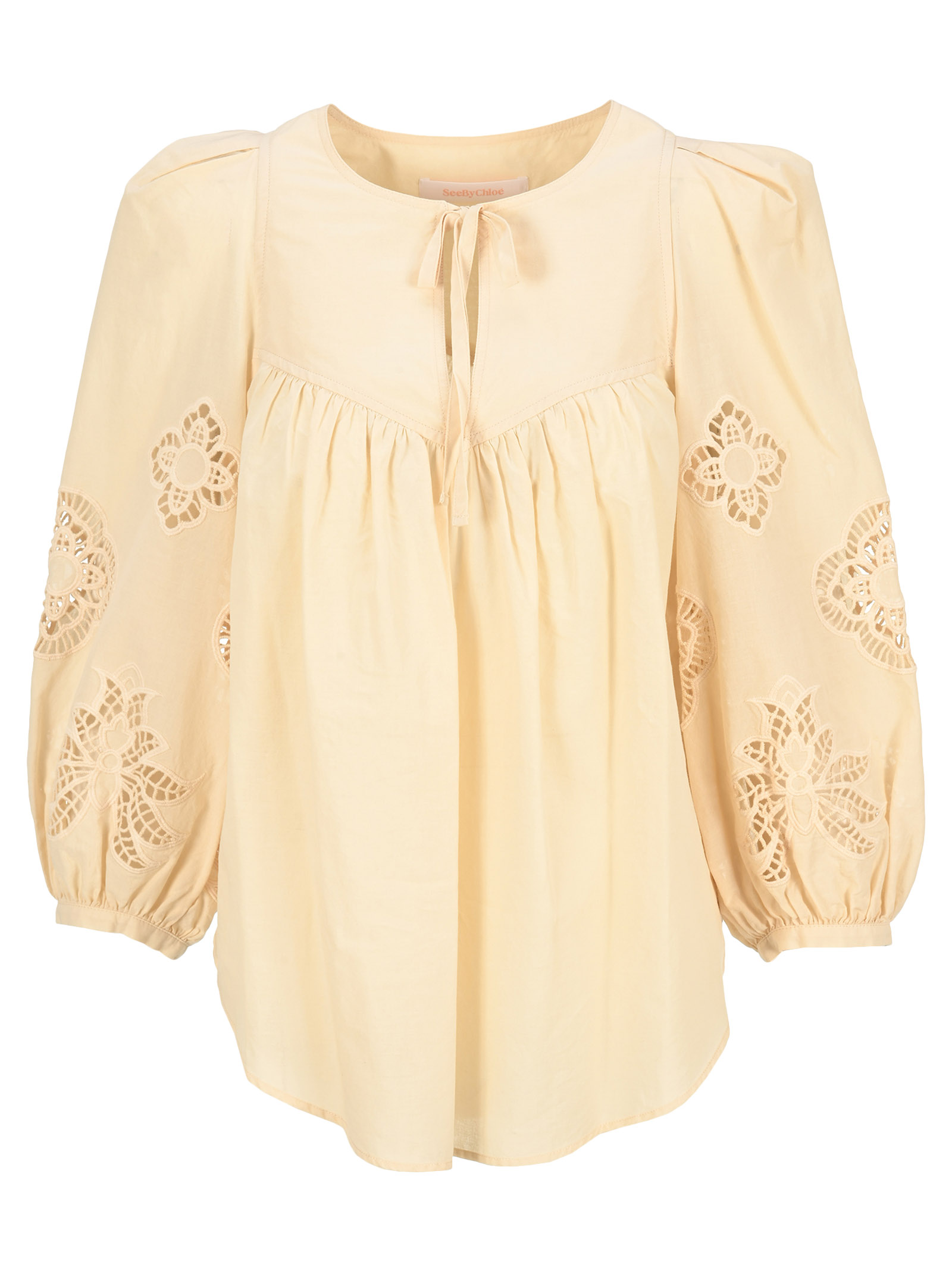 See By Chloé Cottons GUIPURE BLOUSE