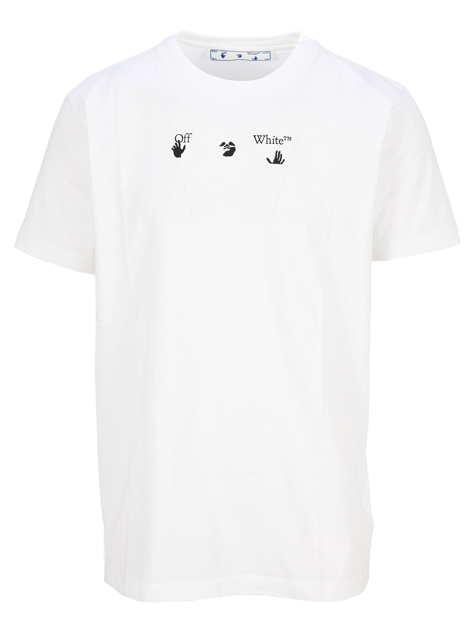 Off-White Cottons BOLT ARROWS SHORT SLEEVES T-SHIRT