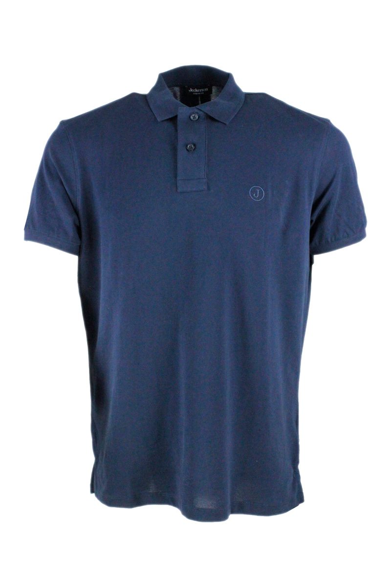 Jeckerson Polos T-SHIRTS AND POLOS BLUE