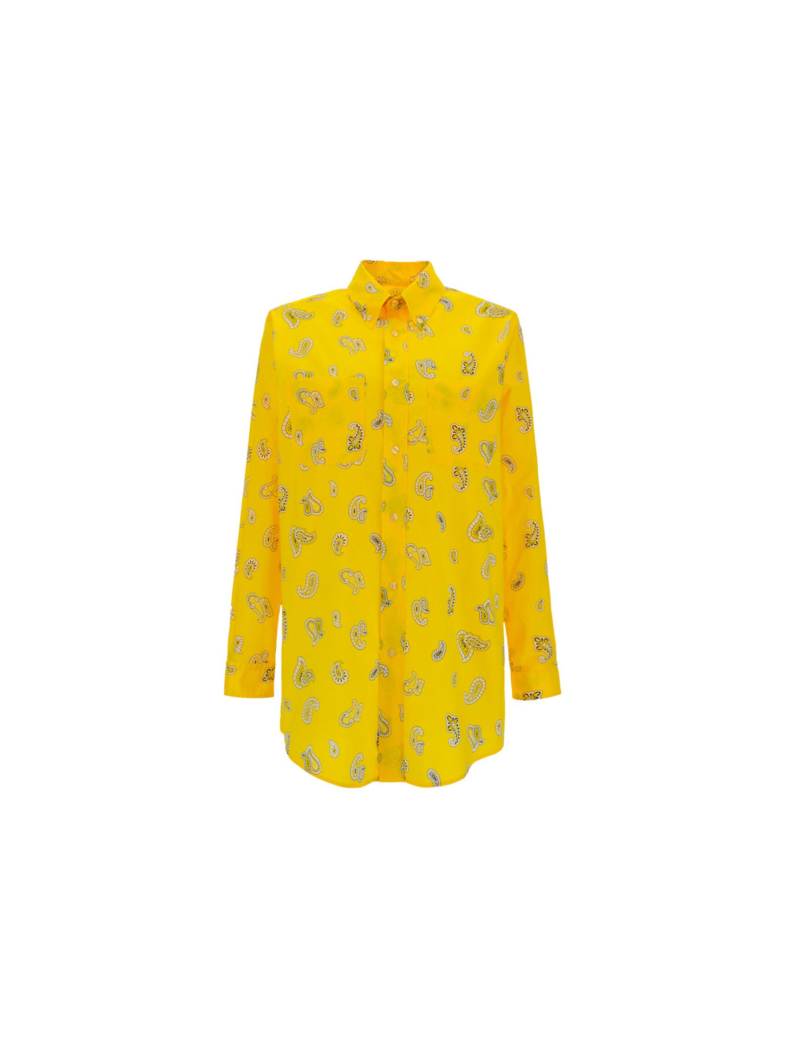 Etro Cottons ETRO WOMEN'S 143069508700 YELLOW OTHER MATERIALS SHIRT
