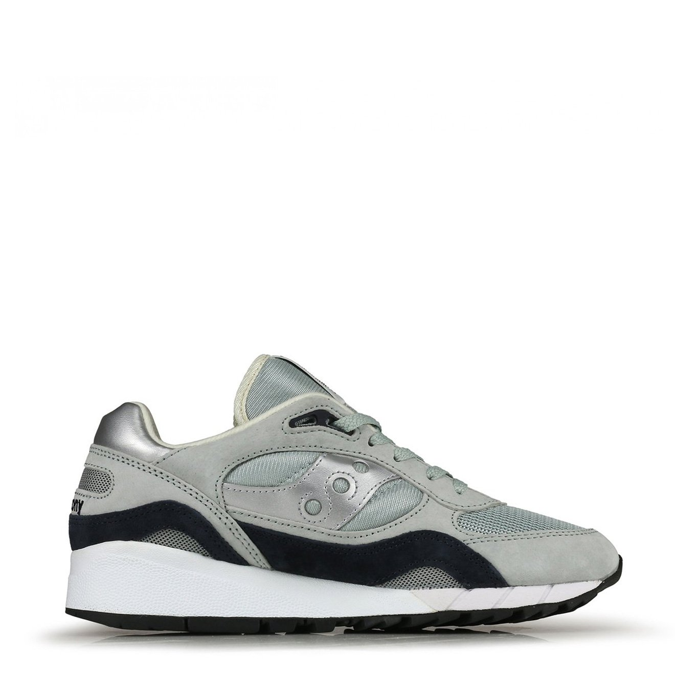 Saucony Suedes SHADOW 6000 TRAINERS GREY / SILVER