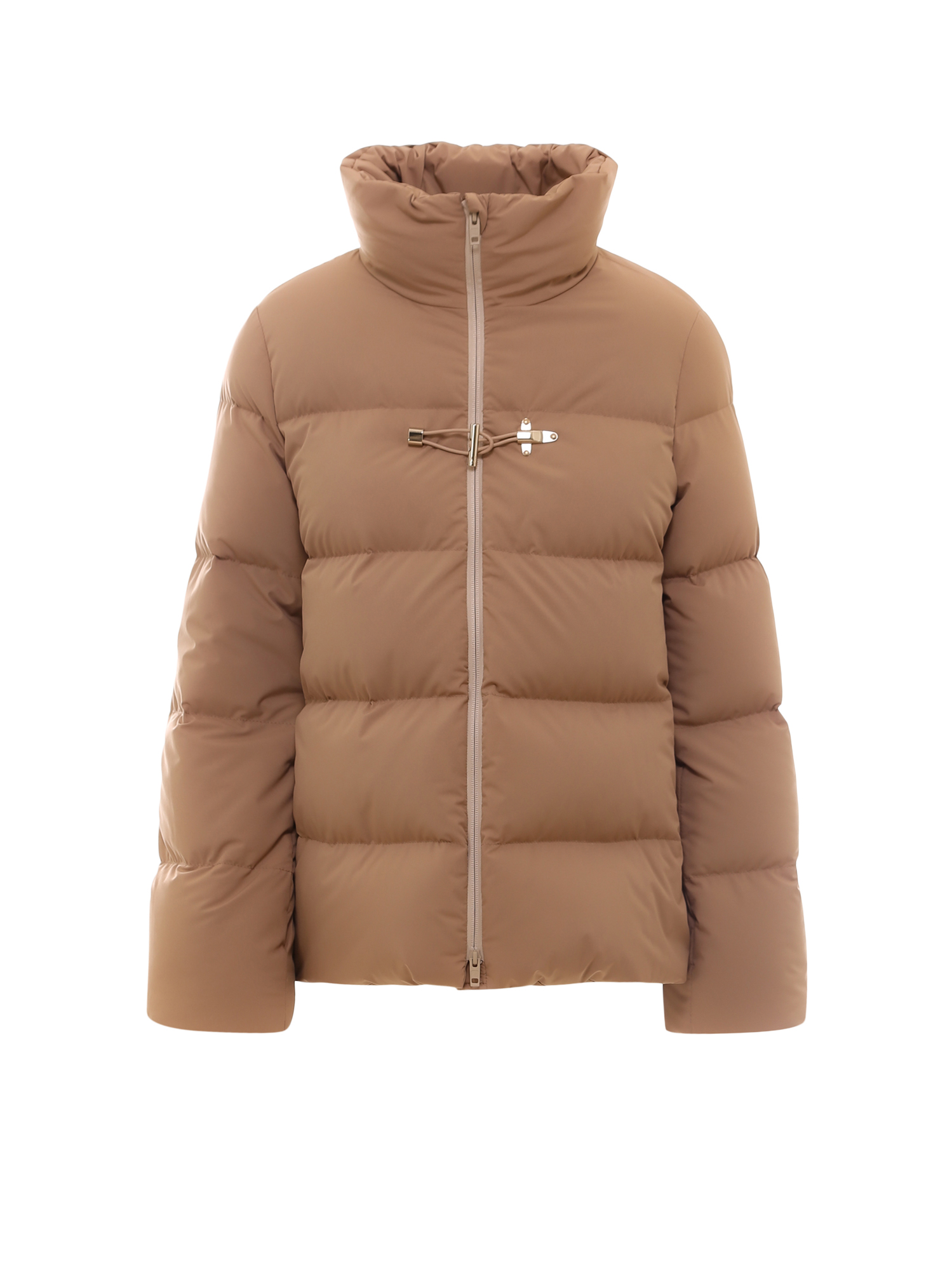 Fay Nylon Jacket In Brown