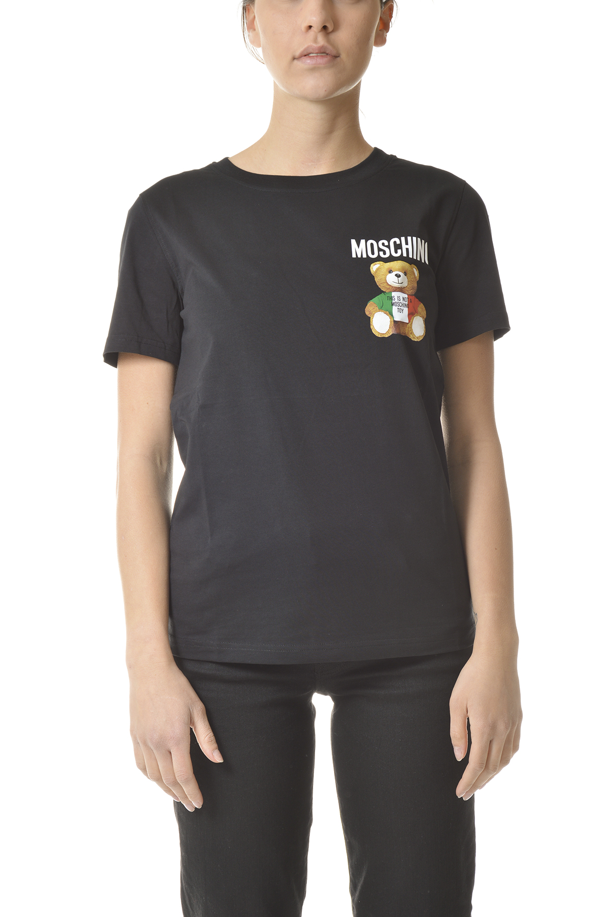 Moschino Cottons T-SHIRTS AND POLOS BLACK