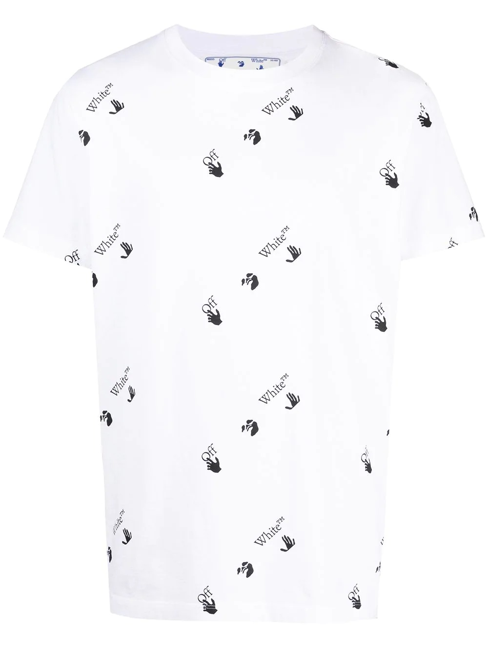 Off-white T-shirts And Polos White