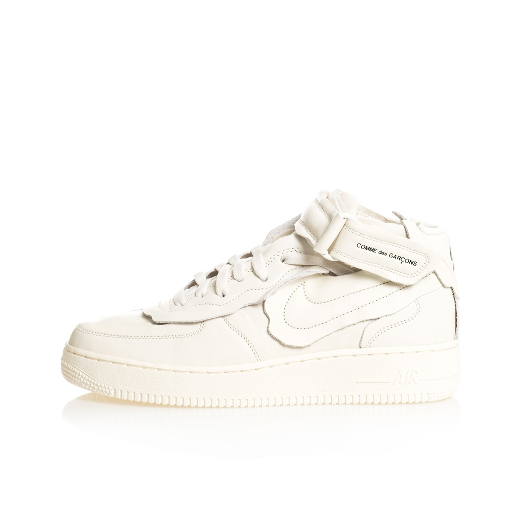 Nike Sneakers Uomo Air Force 1 Mid Comme Des Garcons Dc3601.100 In ...