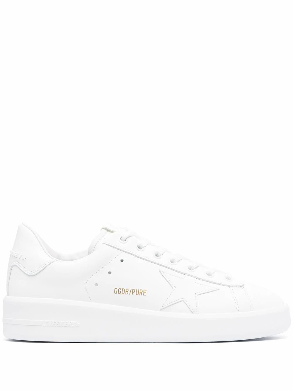 Golden Goose GOLDEN GOOSE WOMEN'S GWF00197F00054110100 WHITE LEATHER SNEAKERS