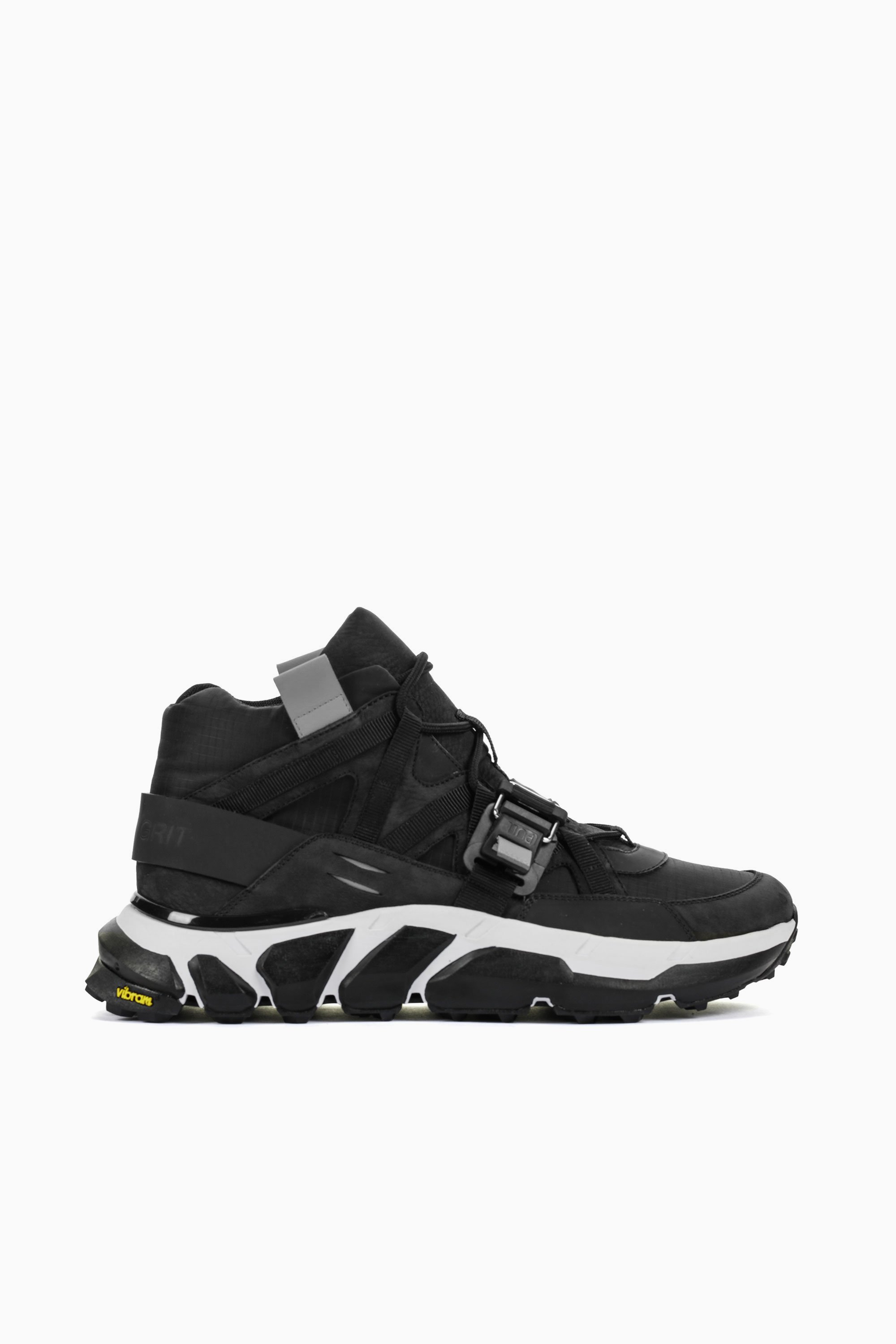 Soho Grit Leathers THE ARCHER HIGH BLACK