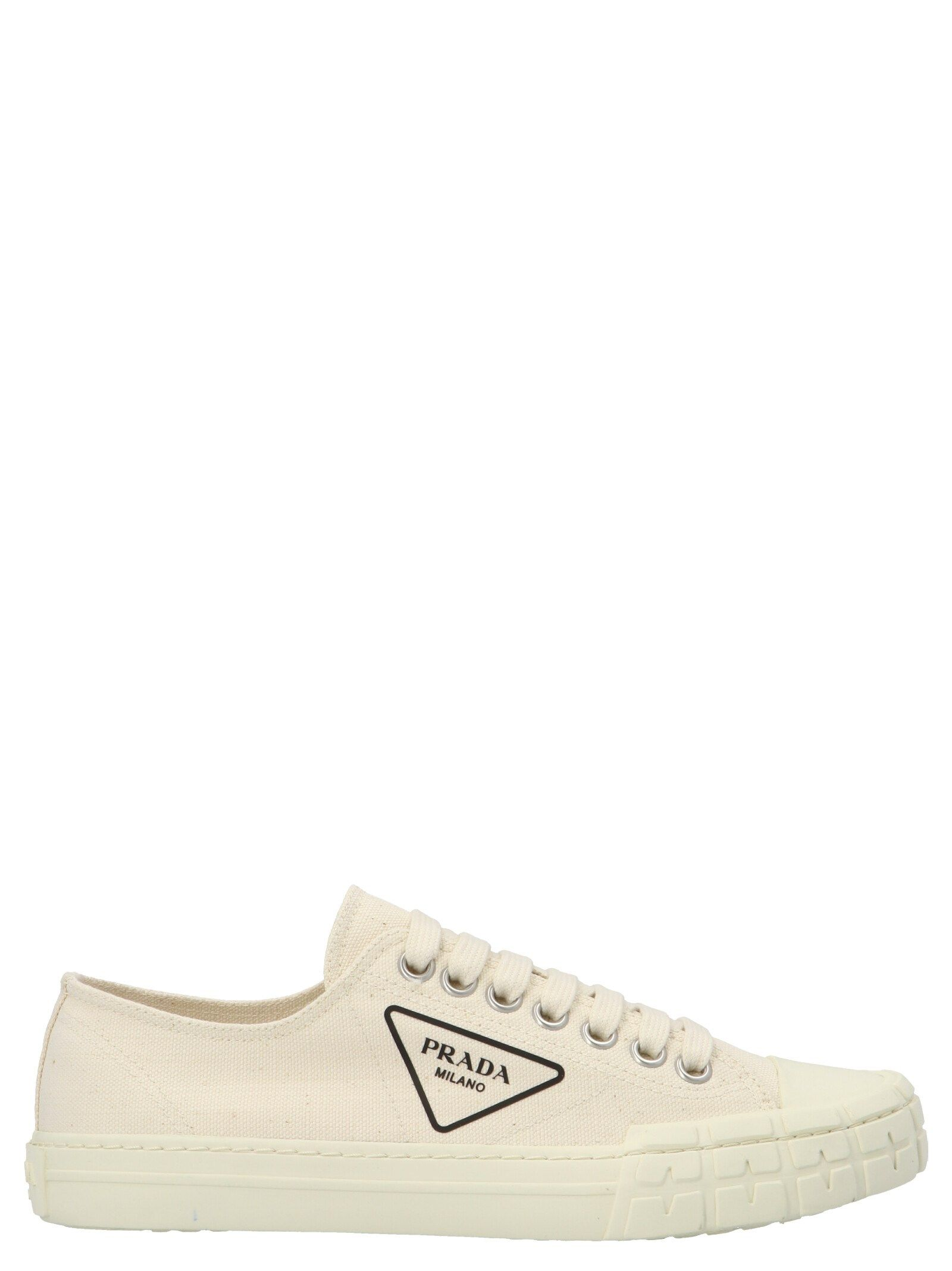 Prada PRADA MEN'S 4E35482OFZF0034 WHITE OTHER MATERIALS SNEAKERS