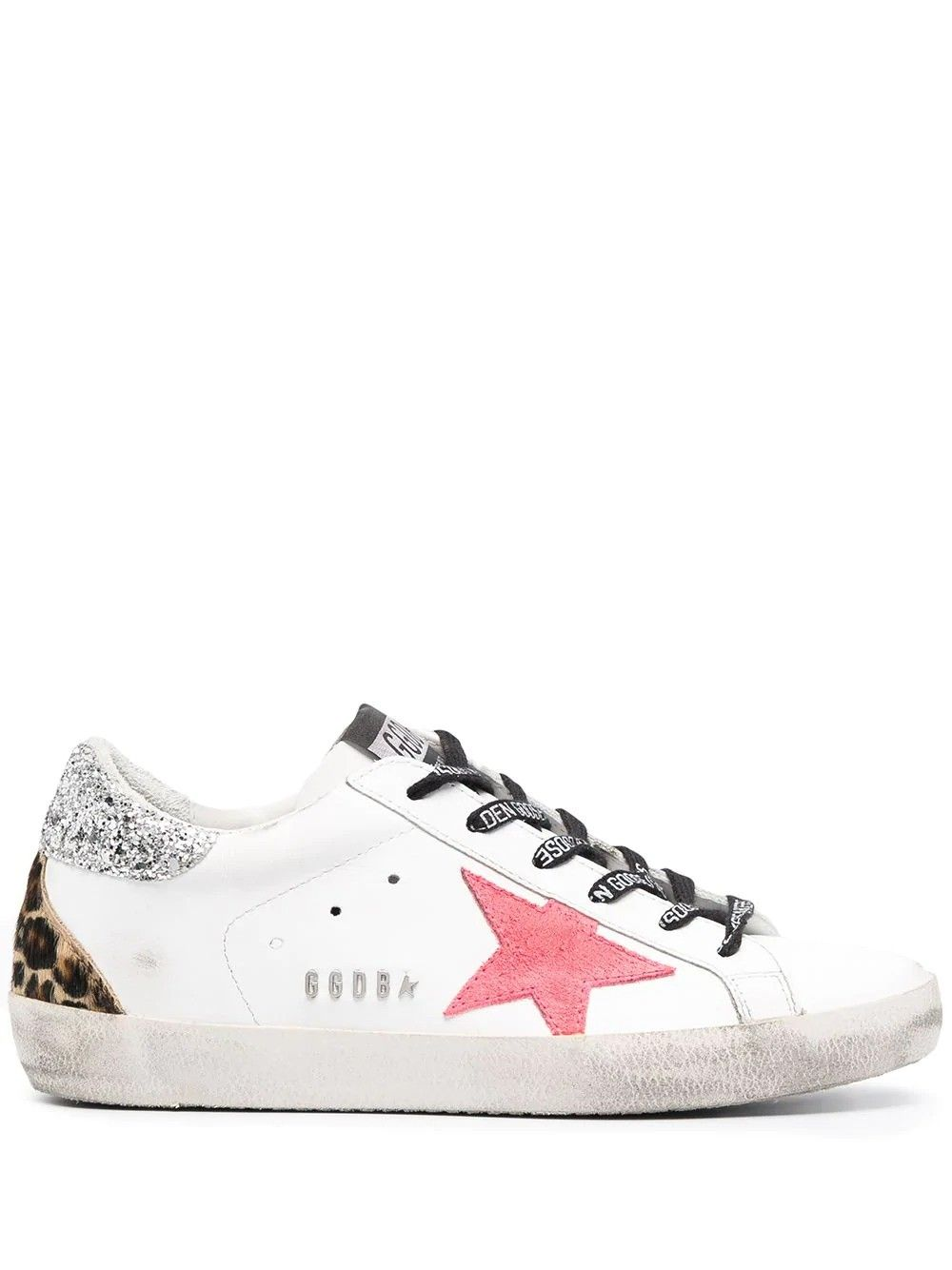 Golden Goose GOLDEN GOOSE WOMEN'S GWF00102F00024910255 WHITE LEATHER SNEAKERS
