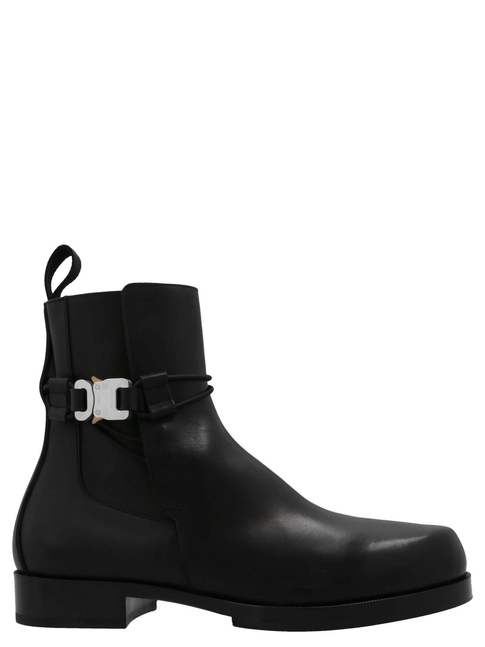 Alyx ALYX MEN'S AAUBO0038LE01BLK0001 BLACK OTHER MATERIALS ANKLE BOOTS