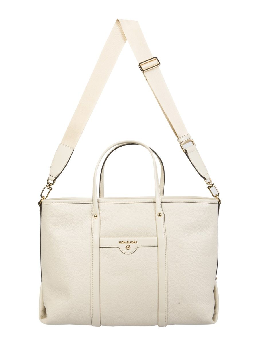 Michael Kors MICHAEL KORS WOMEN'S 30H0GKNT2L182 WHITE OTHER MATERIALS HANDBAG
