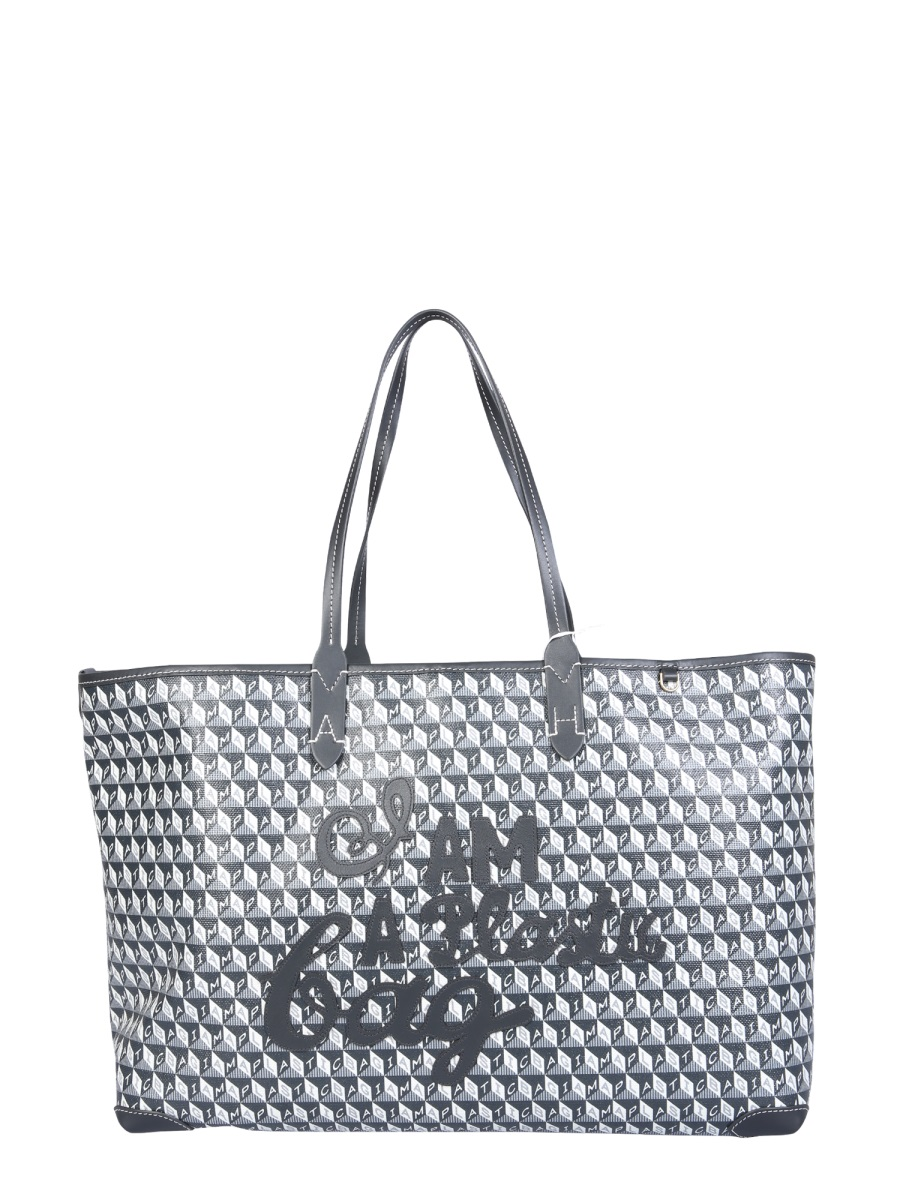 "Anya Hindmarch ""I AM A PLASTIC BAG TOTE BAG"""