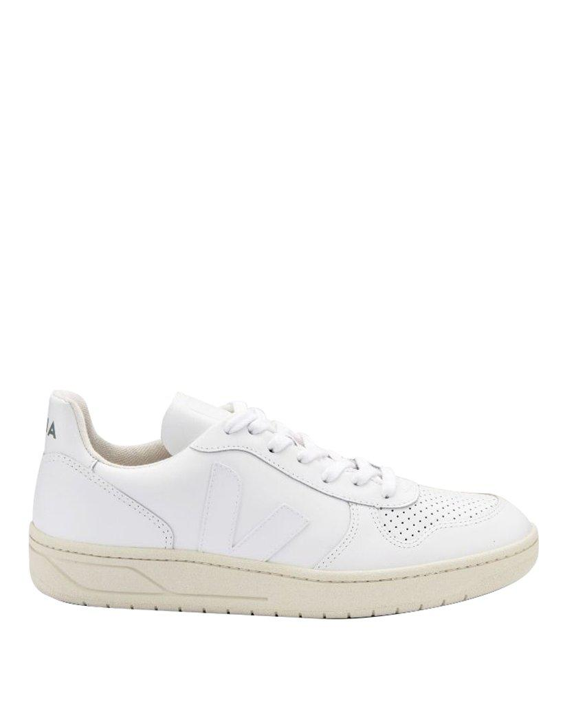 Veja WHITE LEATHER SNEAKERS