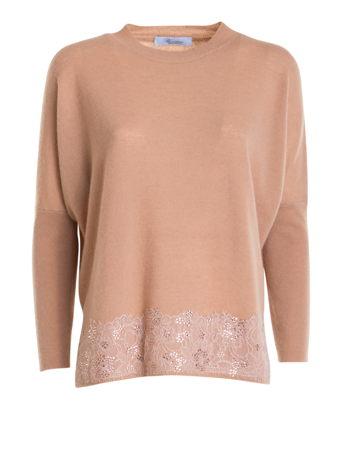 Blumarine SWEATER WITH EMBROIDERY