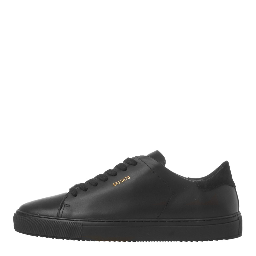 AXEL ARIGATO CLEAN 90 SNEAKER - BLACK LEATHER