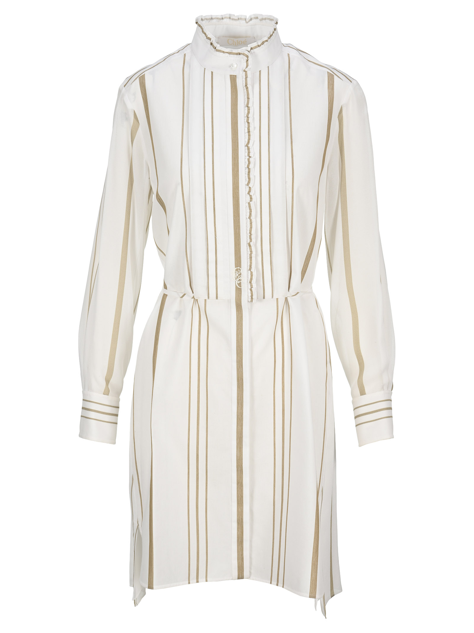 Chloé STRIPED SHIRT DRESS