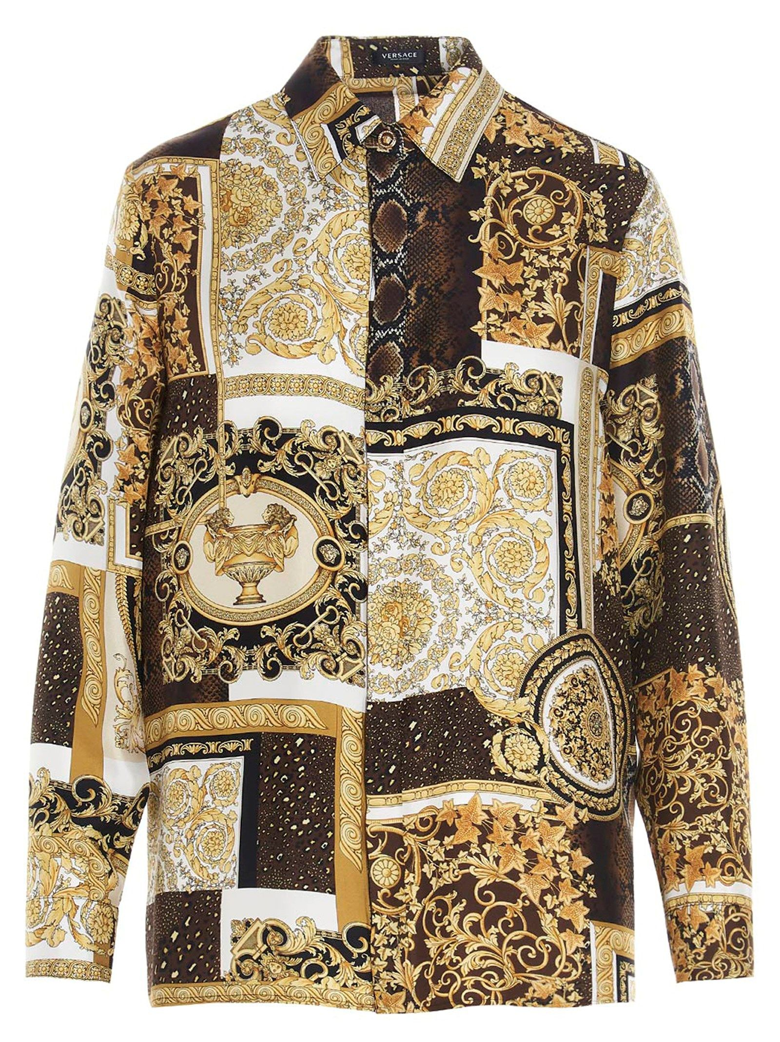 Versace Shirts VERSACE WOMEN'S A826621F004565N030 MULTICOLOR OTHER MATERIALS SHIRT