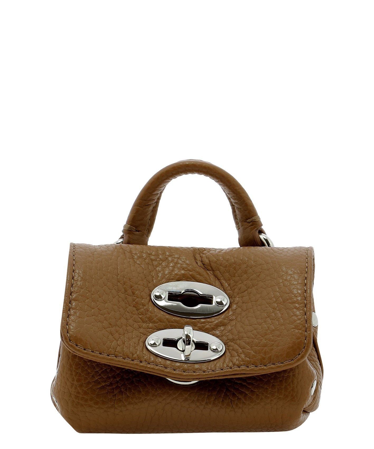 Zanellato ZANELLATO WOMEN'S 66831822 BROWN OTHER MATERIALS HANDBAG