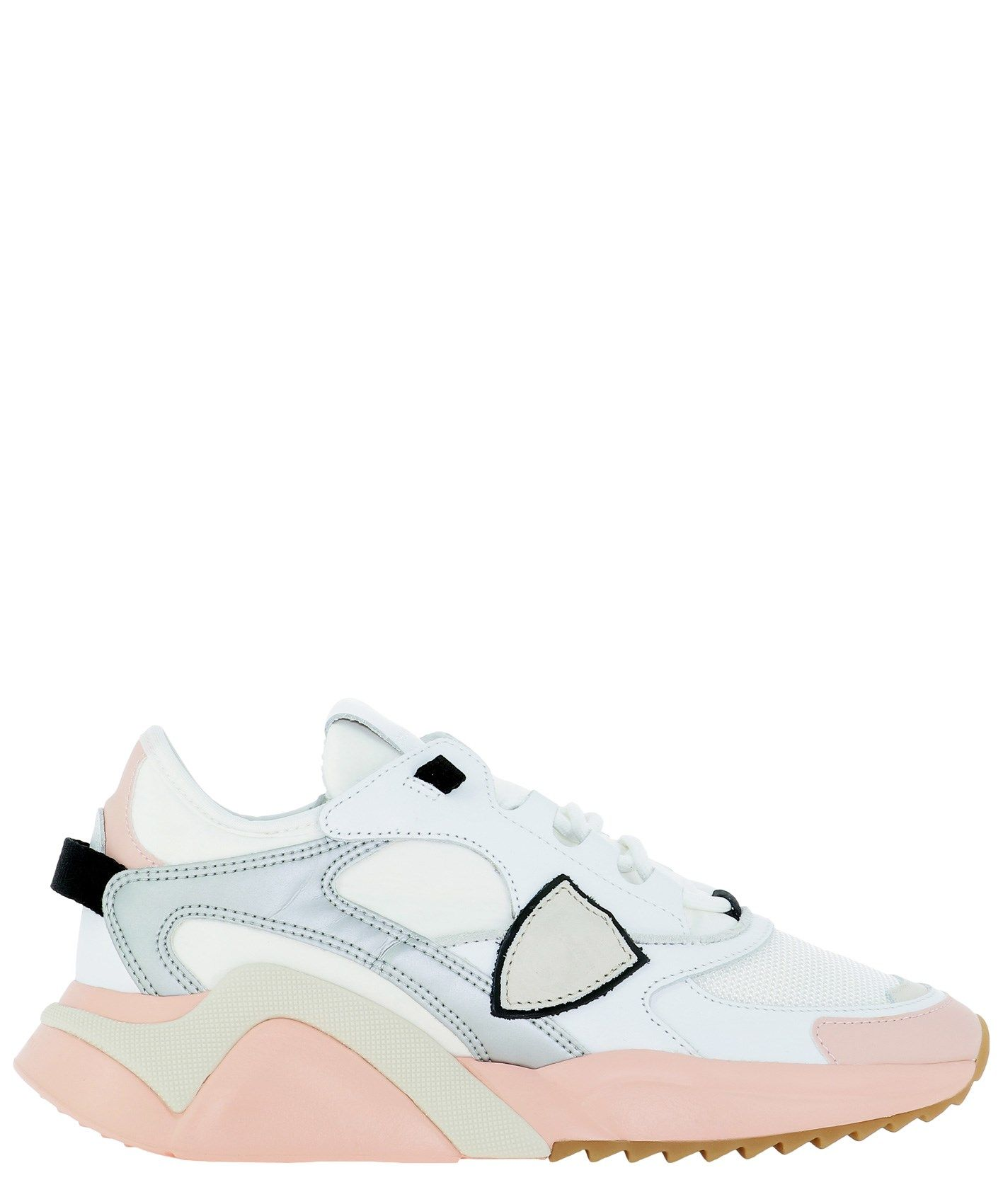 Philippe Model PHILIPPE MODEL WOMEN'S EZLDWIP4 WHITE OTHER MATERIALS SNEAKERS