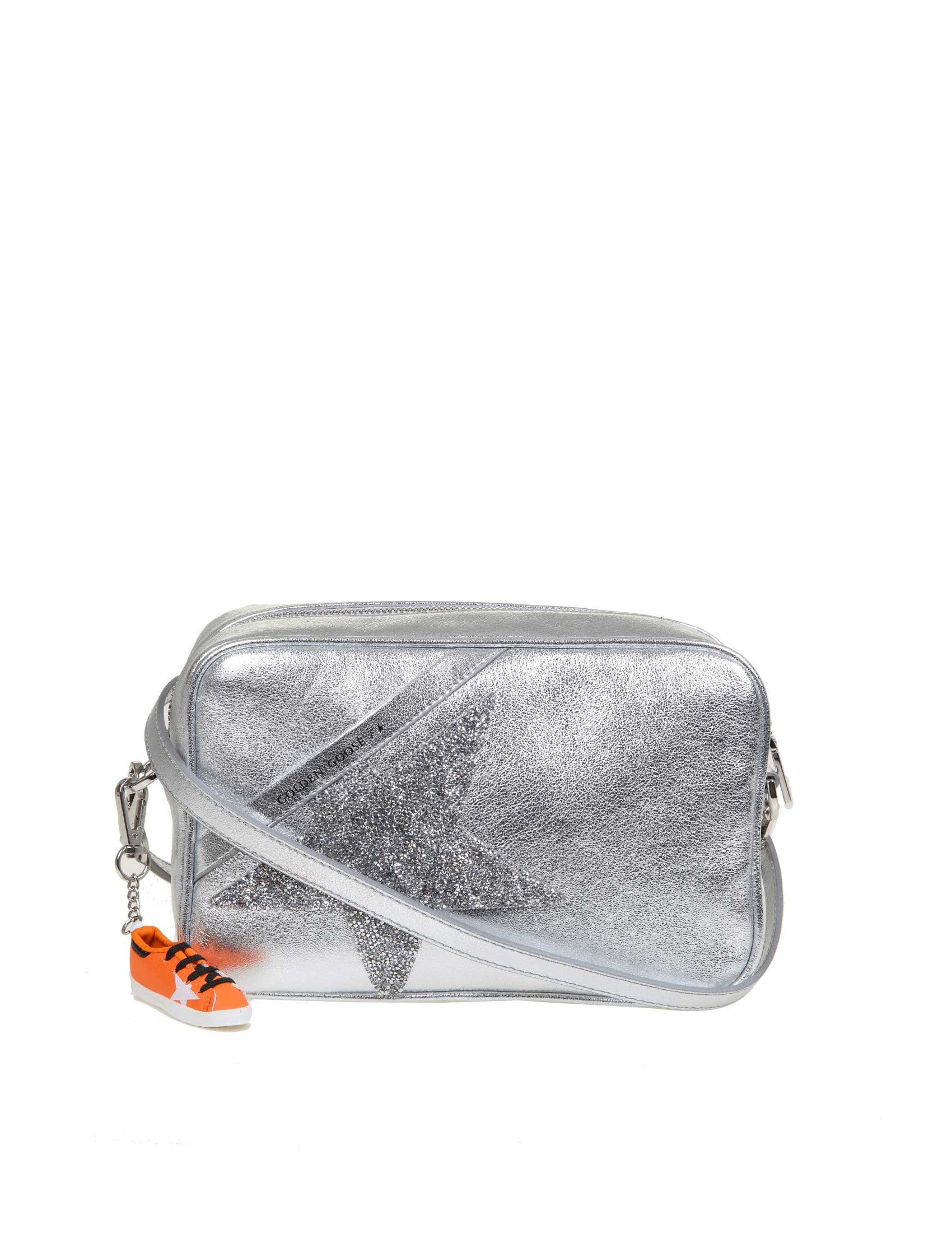 GOLDEN GOOSE GOLDEN GOOSE STAR BAG SHOULDER BAG IN LAMINATED LEATHER