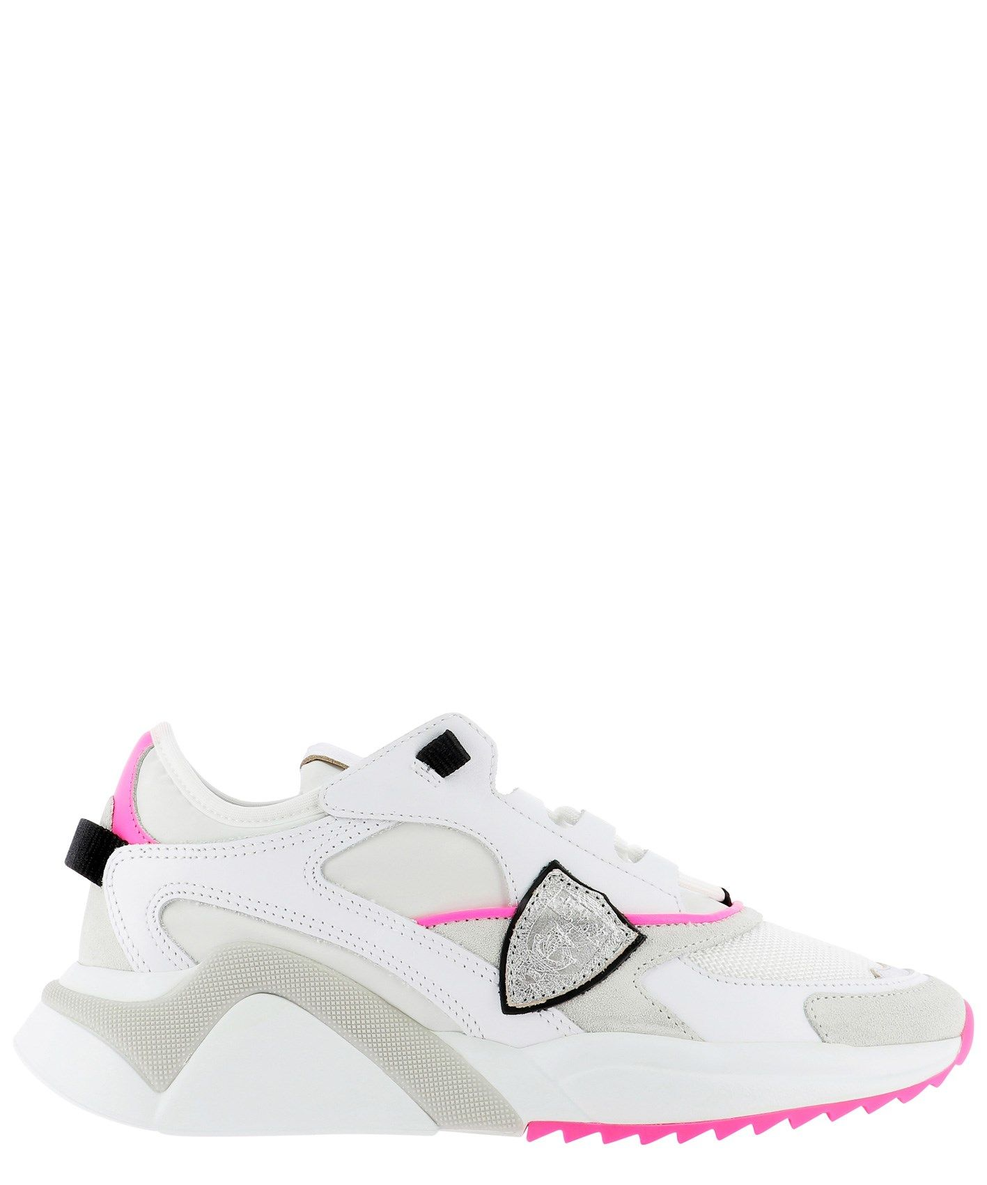 Philippe Model PHILIPPE MODEL WOMEN'S EZLDWF06 WHITE OTHER MATERIALS SNEAKERS