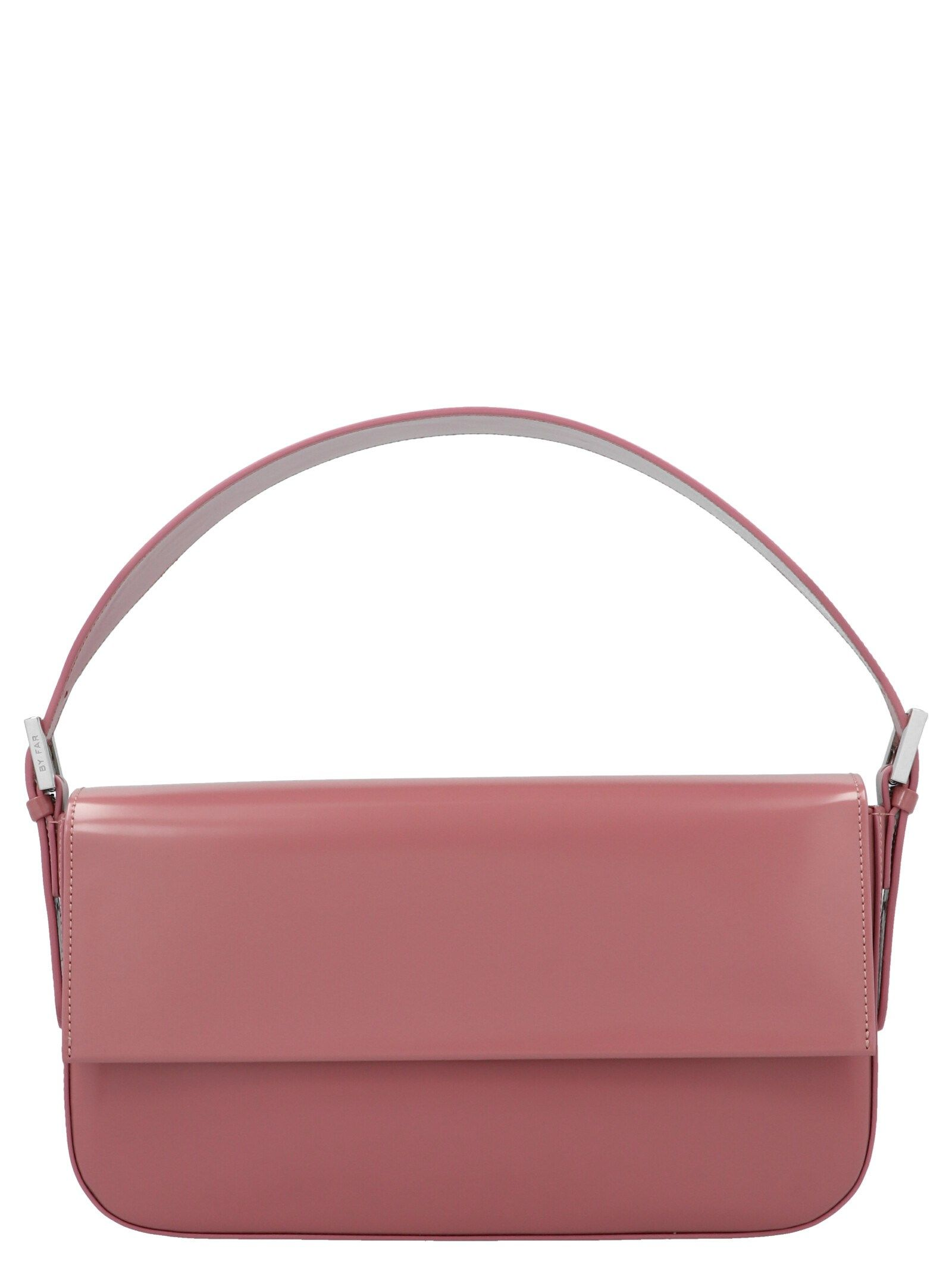 By Far BY FAR WOMEN'S 21CRMNSPIWMEDPI PINK SHOULDER BAG