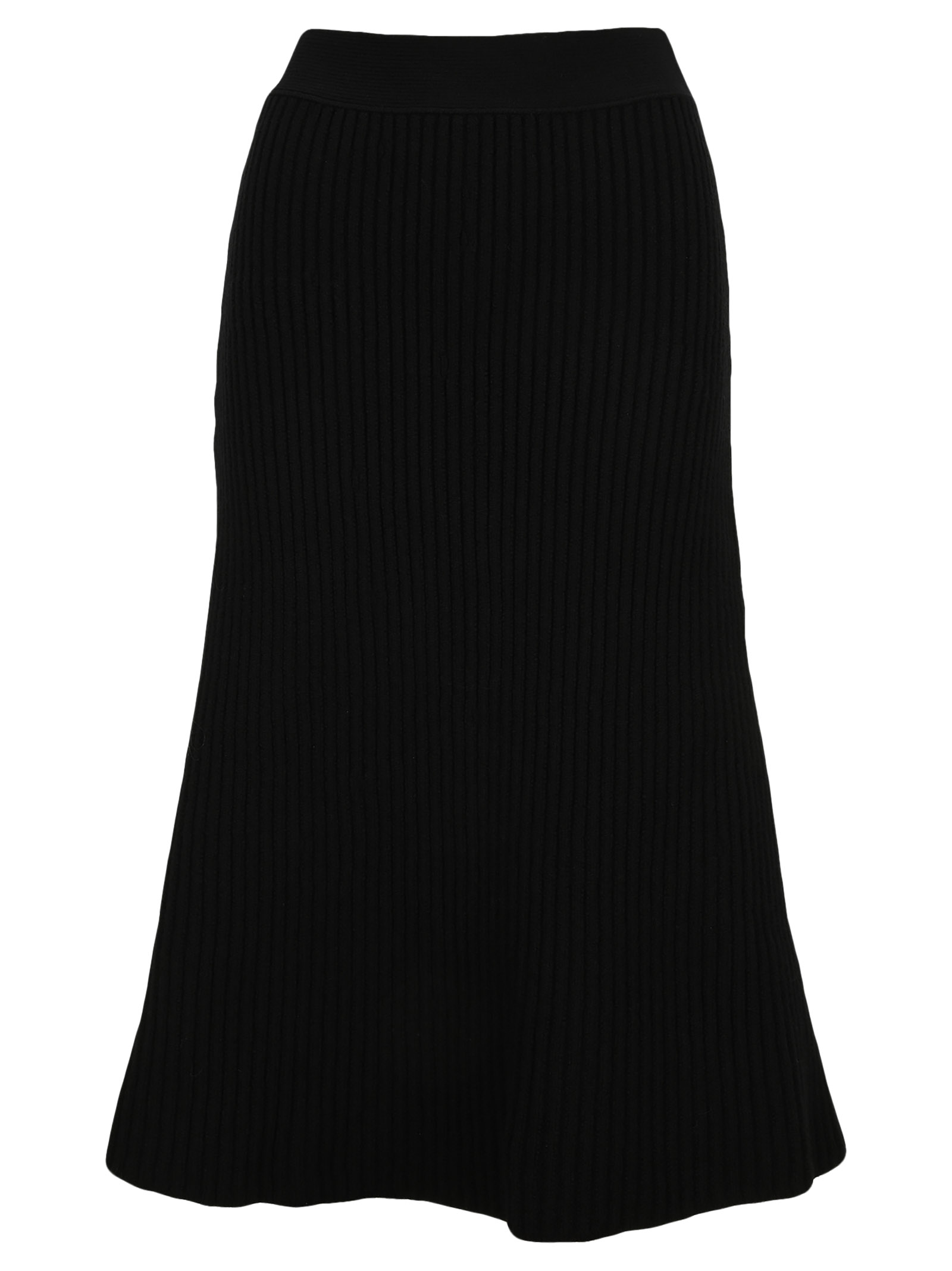 Bottega Veneta RIBBED KNIT MIDI SKIRT