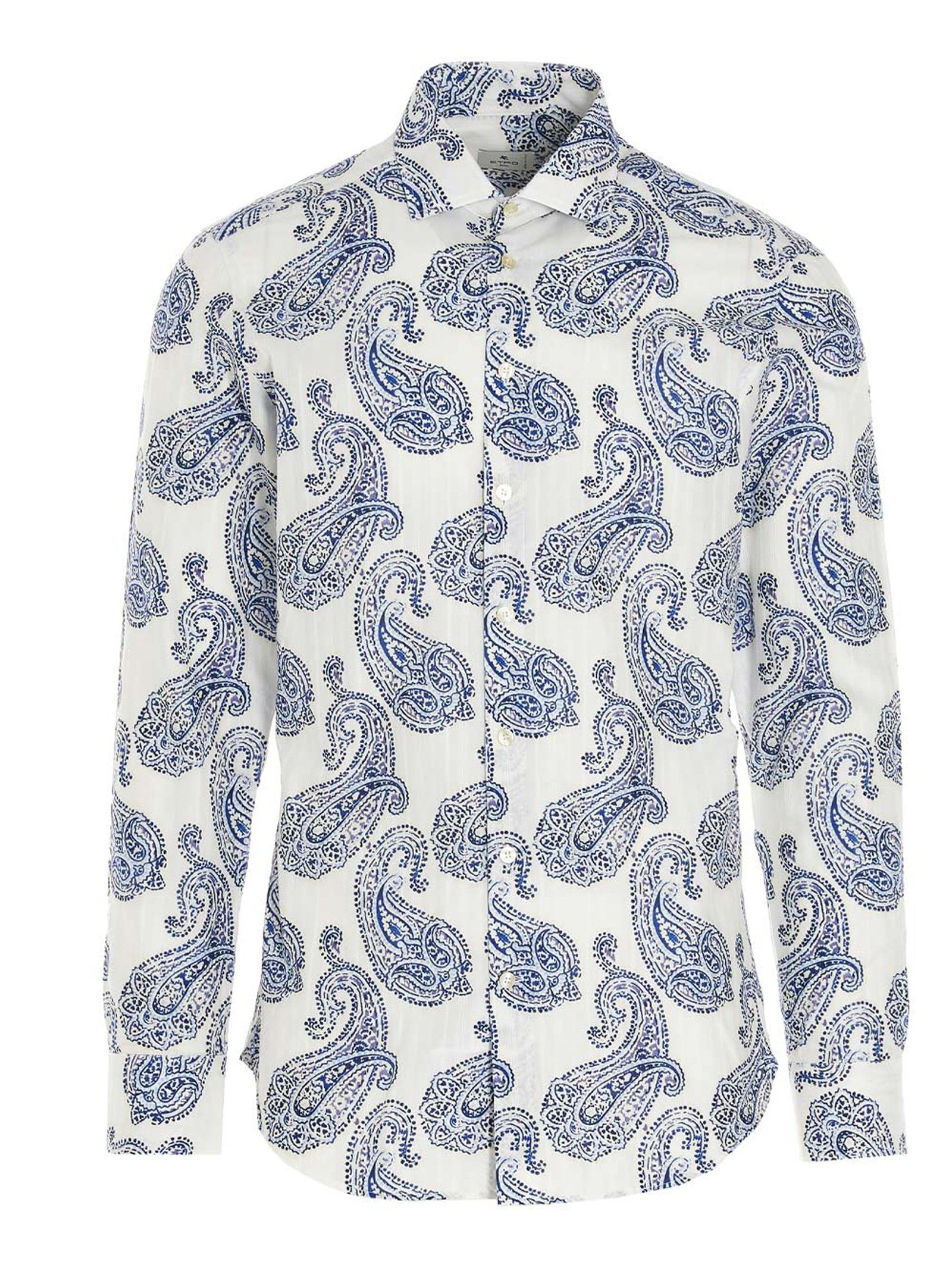Etro ETRO MEN'S 114514784990 MULTICOLOR OTHER MATERIALS SHIRT