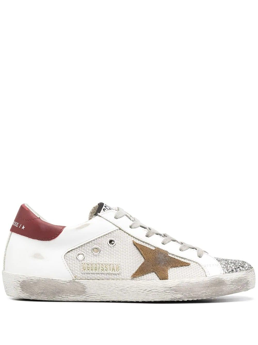 Golden Goose GOLDEN GOOSE WOMEN'S GWF00103F00015680188 WHITE LEATHER SNEAKERS