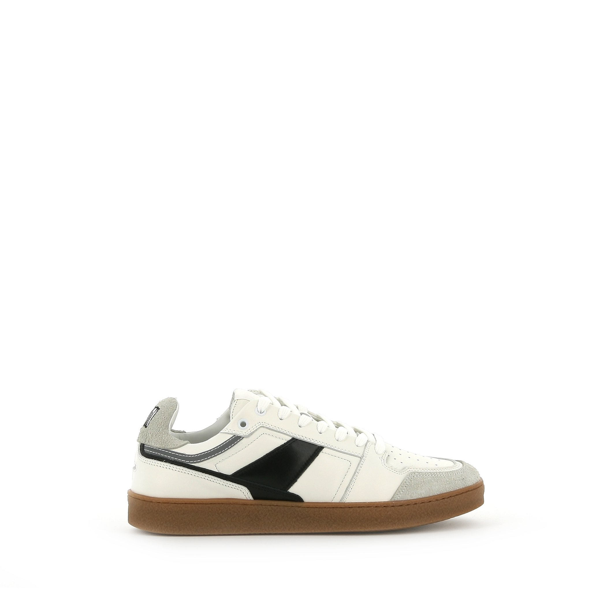 Ami Alexandre Mattiussi Leathers AMI PARIS LEATHER AND SUEDE SNEAKERS