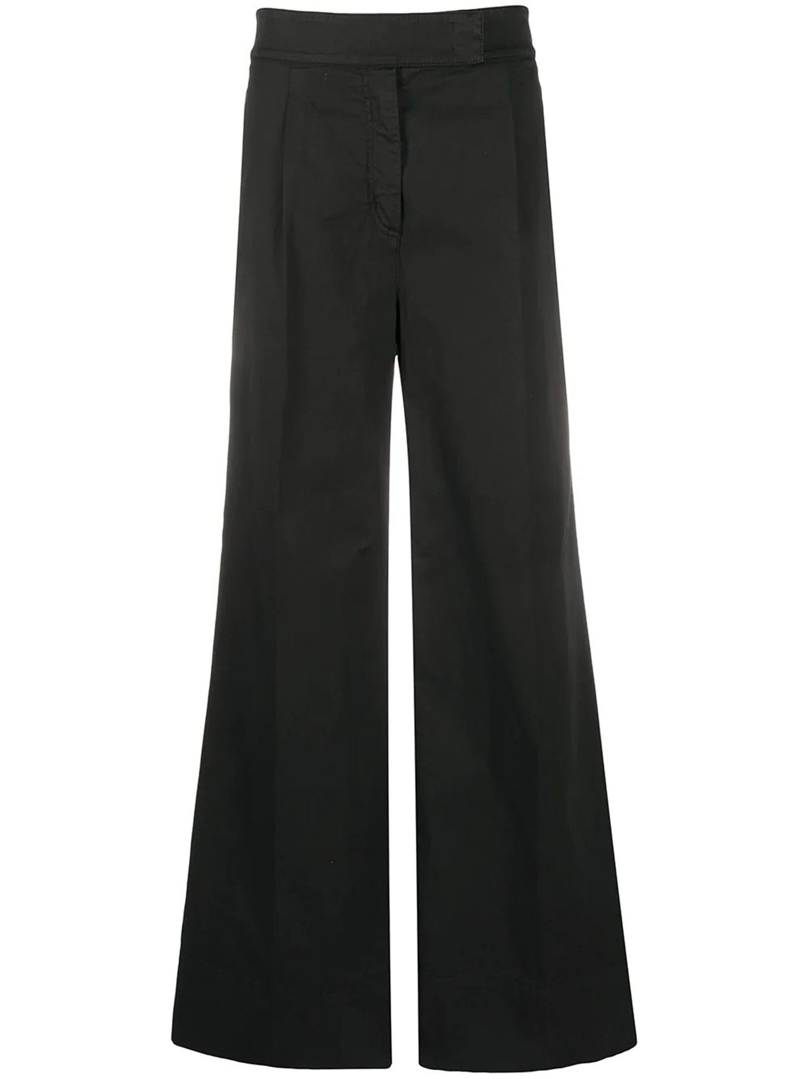 N°21 WOMEN'S 20EN2M0B08100759000 BLACK COTTON PANTS
