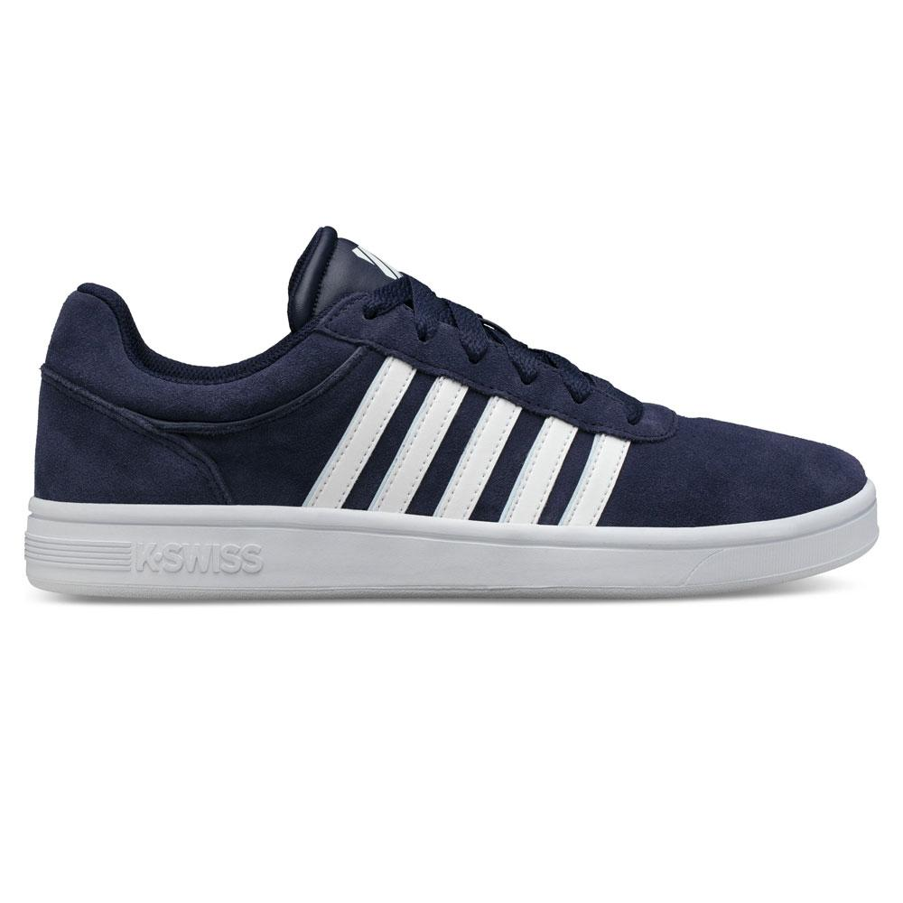 K-Swiss Leathers K-SWISS COURT CHESWICK SP SDE TAINERS, COLOUR: BLUE