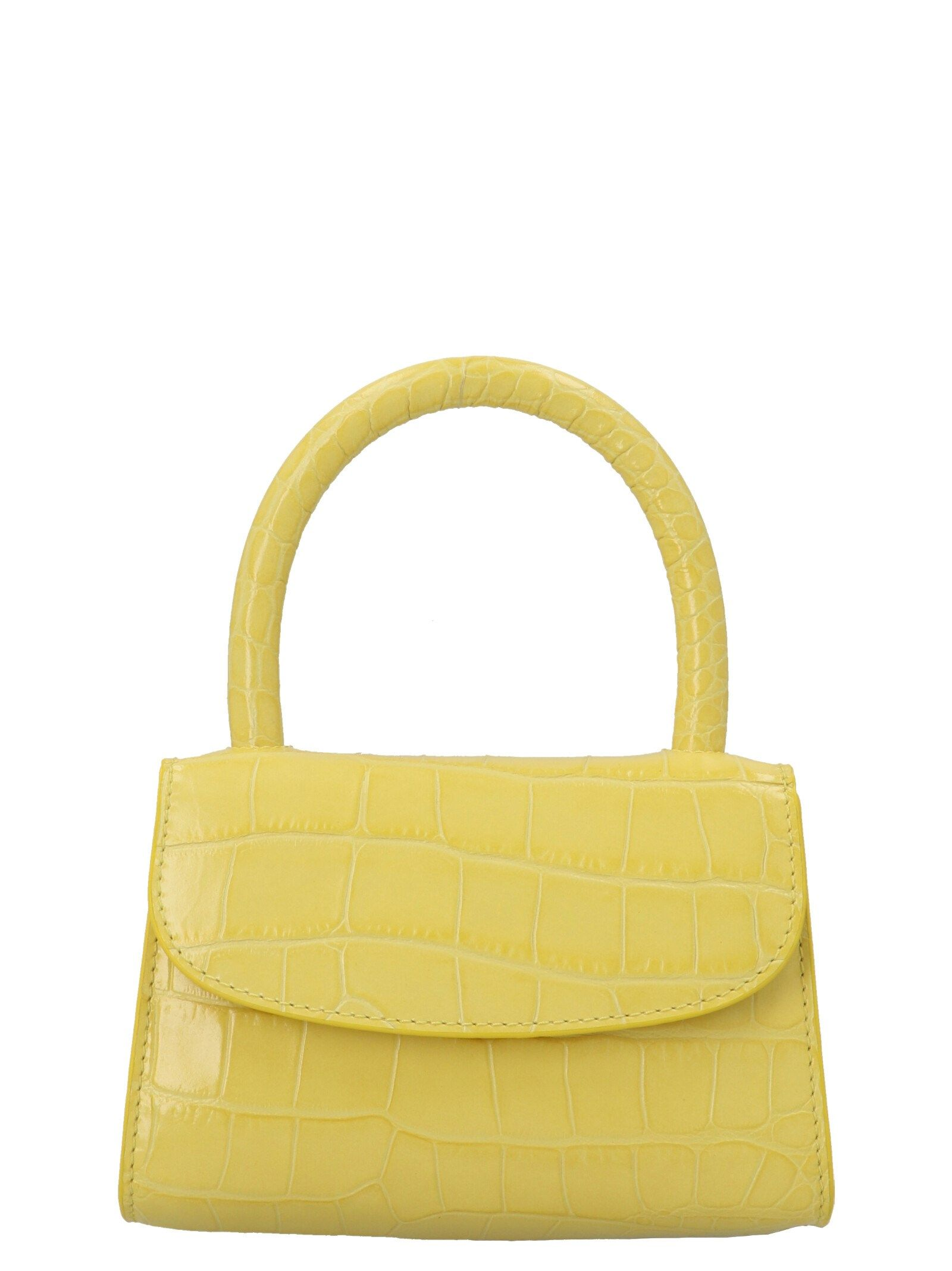 By Far BY FAR WOMEN'S 21CRMINACUSDSMACUS YELLOW HANDBAG