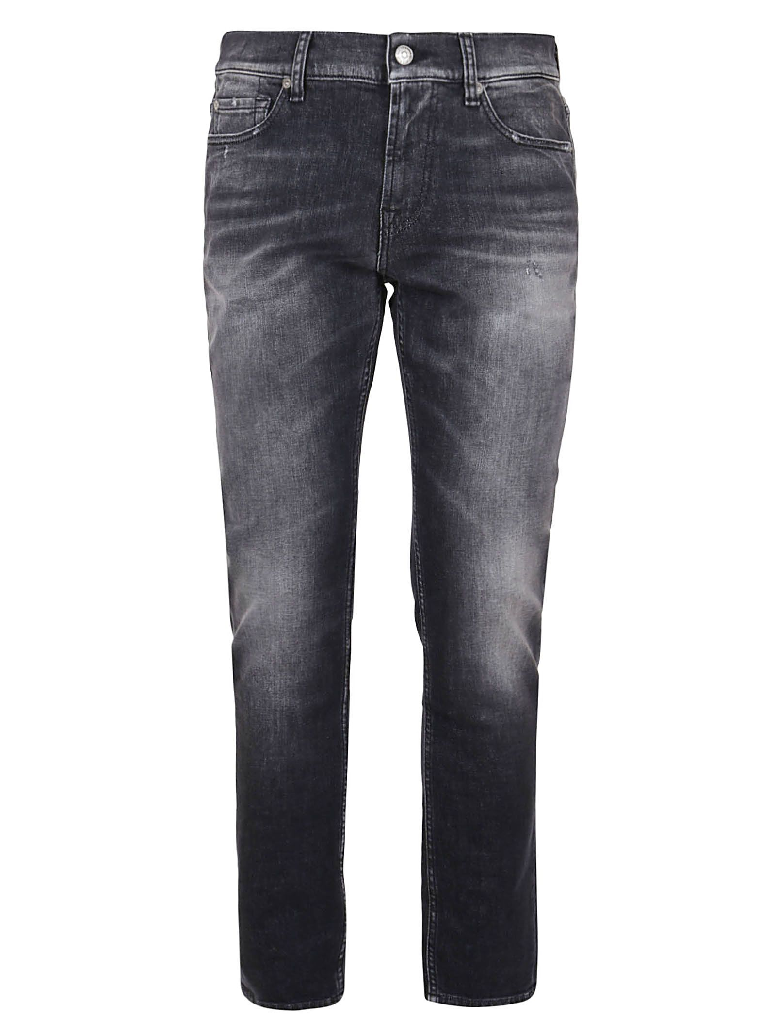 7 For All Mankind 7 FOR ALL MANKIND MEN'S JSD4A210MBMAJOR GREY COTTON JEANS