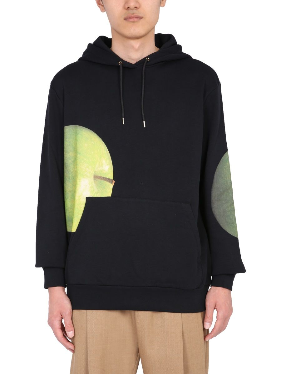 Paul Smith Cottons PAUL SMITH MEN'S M1R180TEP218030 GREEN OTHER MATERIALS SWEATSHIRT