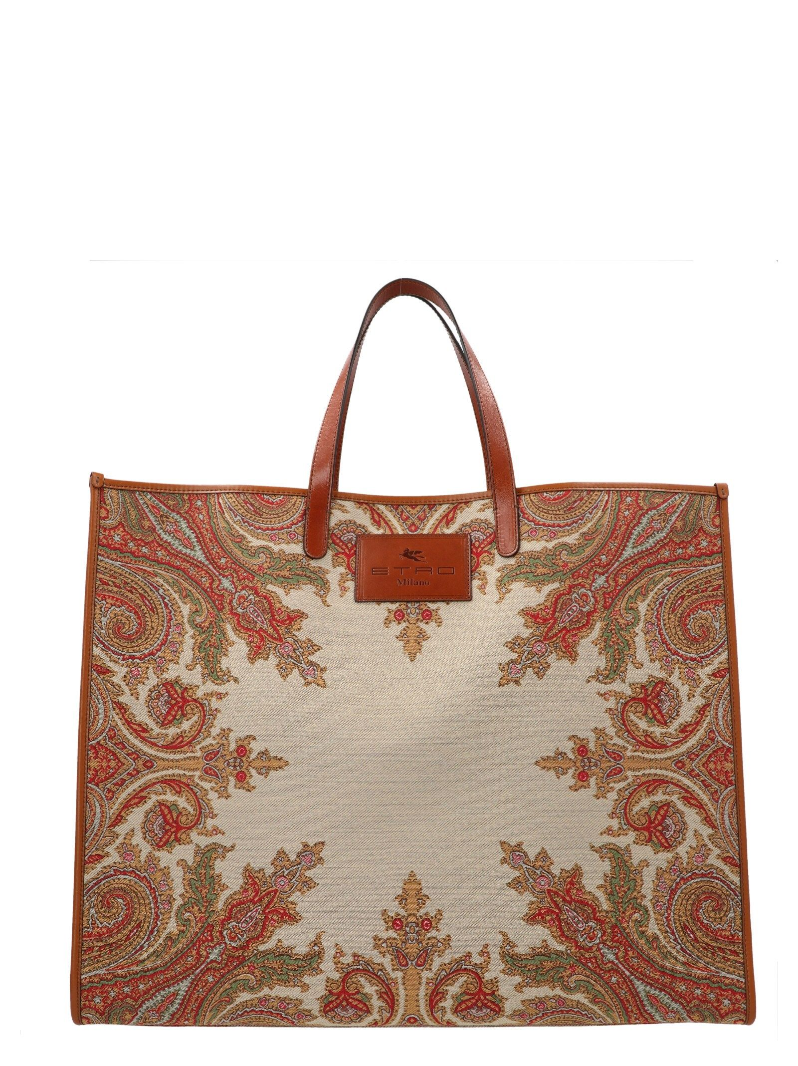 Etro ETRO WOMEN'S 1N39188600800 MULTICOLOR OTHER MATERIALS TOTE