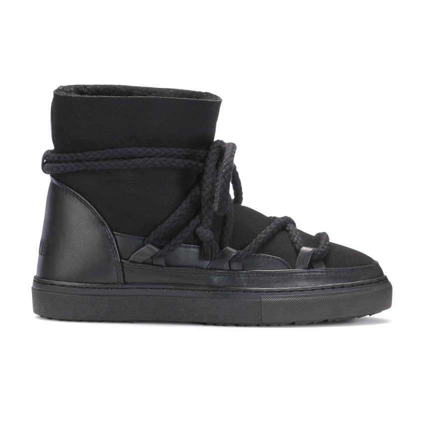 Inuikii INUIKII - CLASSIC BLACK SHEARLING LINED ANKLE BOOTS
