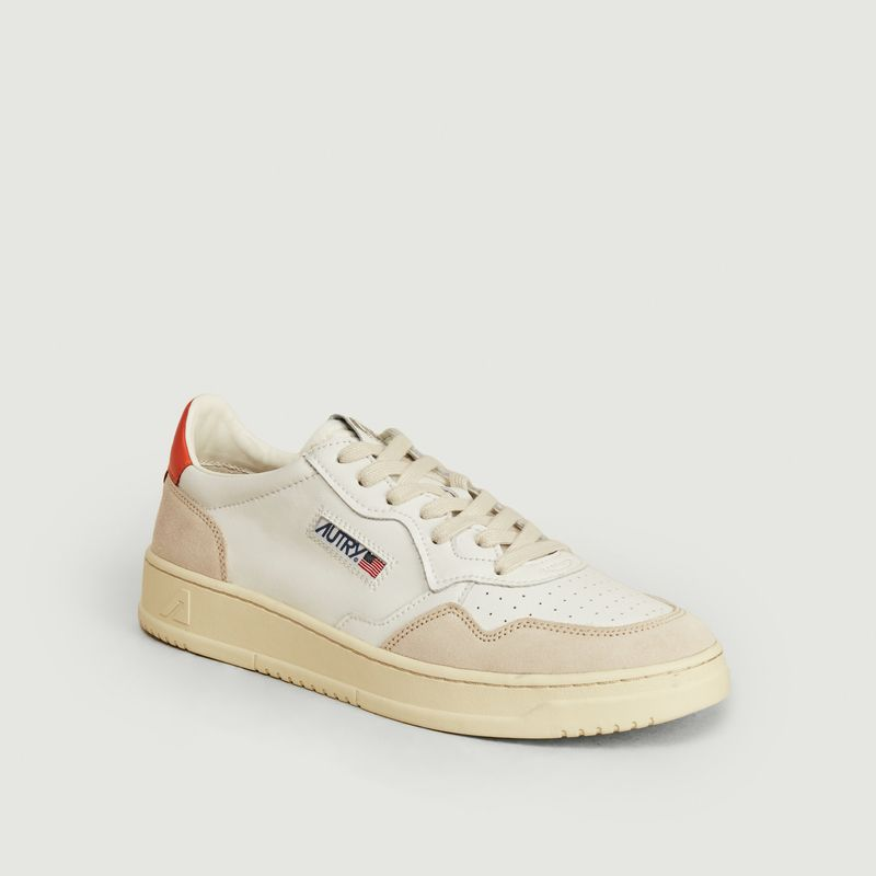 Autry MEDALIST LEATHER SNEAKERS WHITE AUTRY
