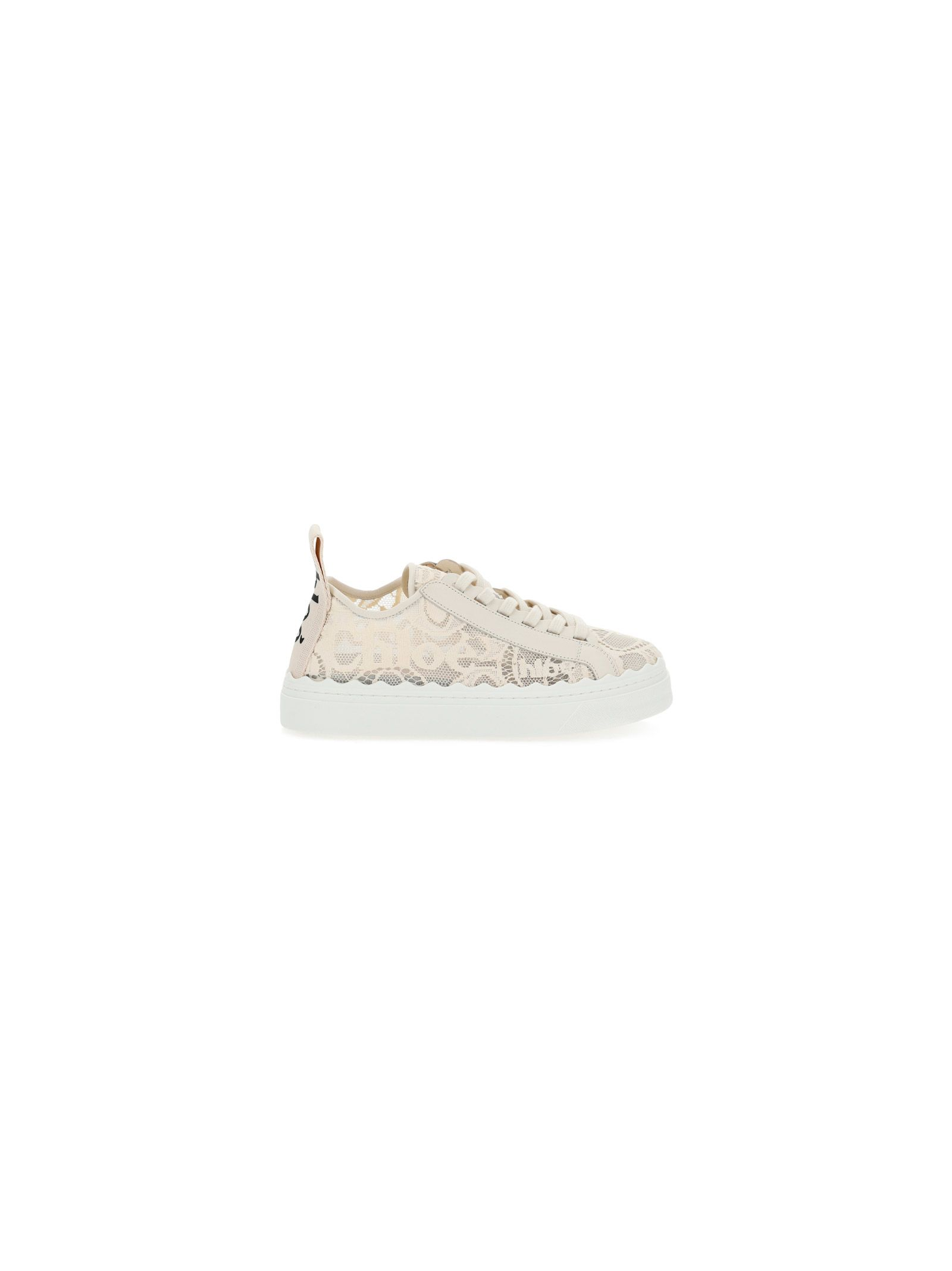 Chloé CHLO WOMEN'S CHC19U108D26J1 BEIGE OTHER MATERIALS SNEAKERS