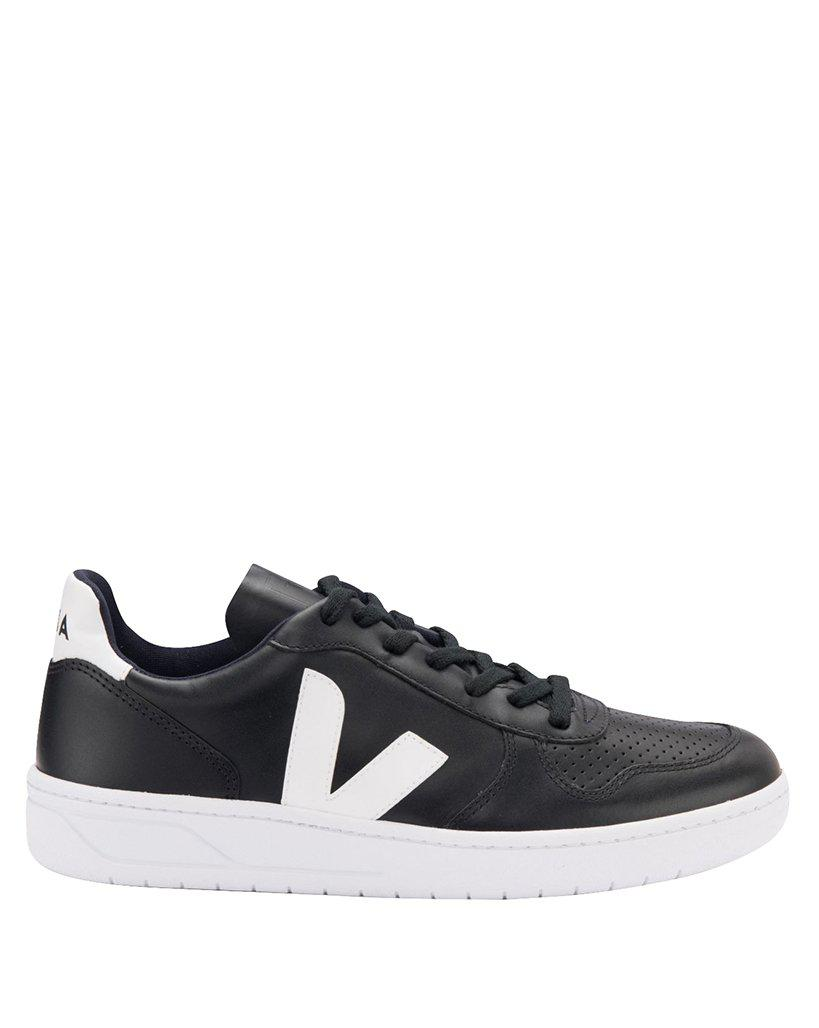 Veja BLACK LEATHER SNEAKERS