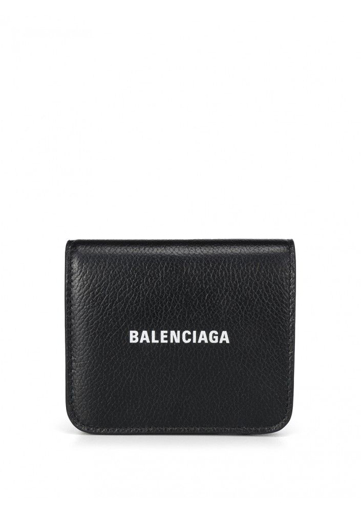 Balenciaga BALENCIAGA WOMEN'S 5942161IZIM1090 BLACK LEATHER WALLET