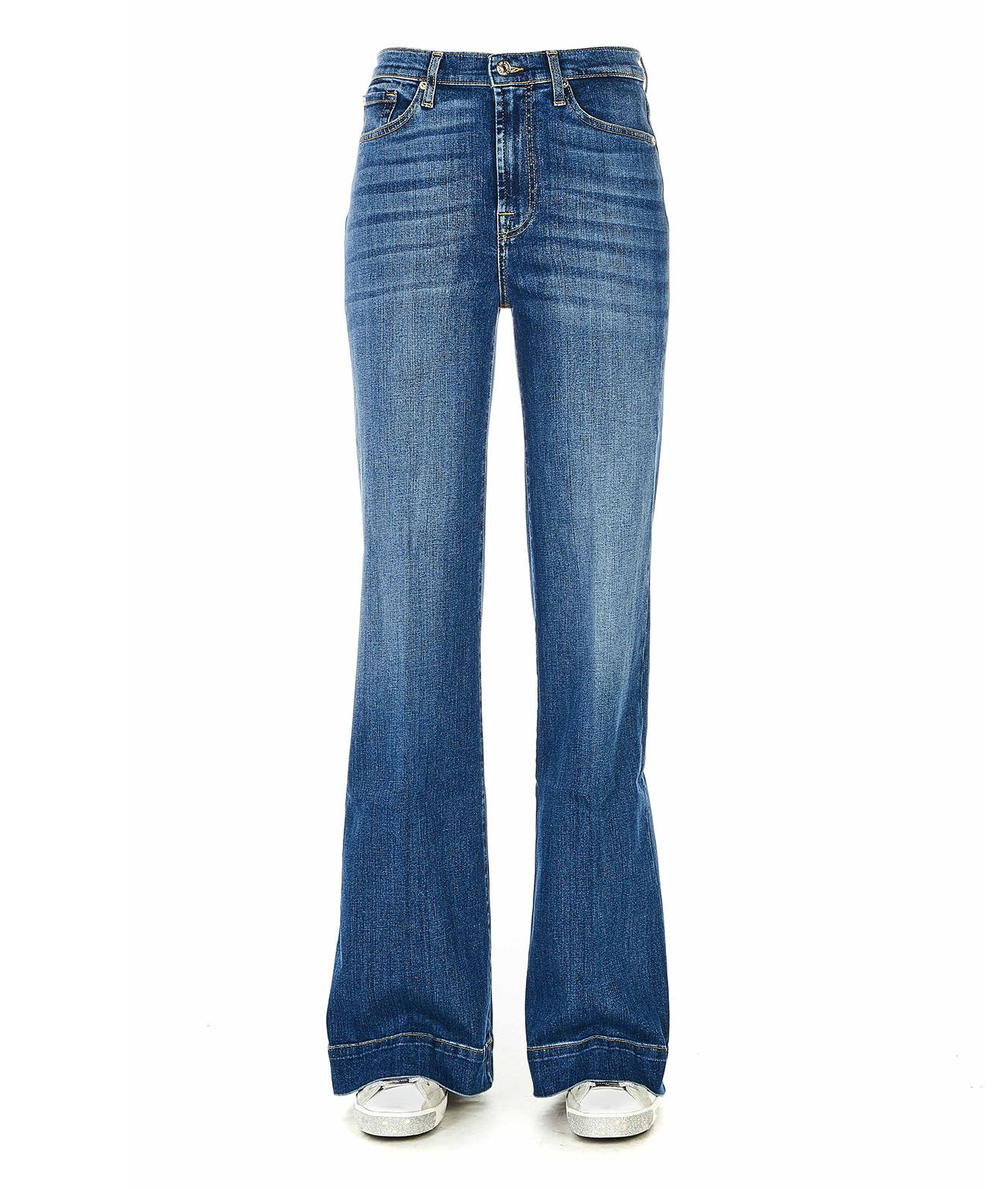 7 FOR ALL MANKIND JEANS 'HIGH RISE FLARE'