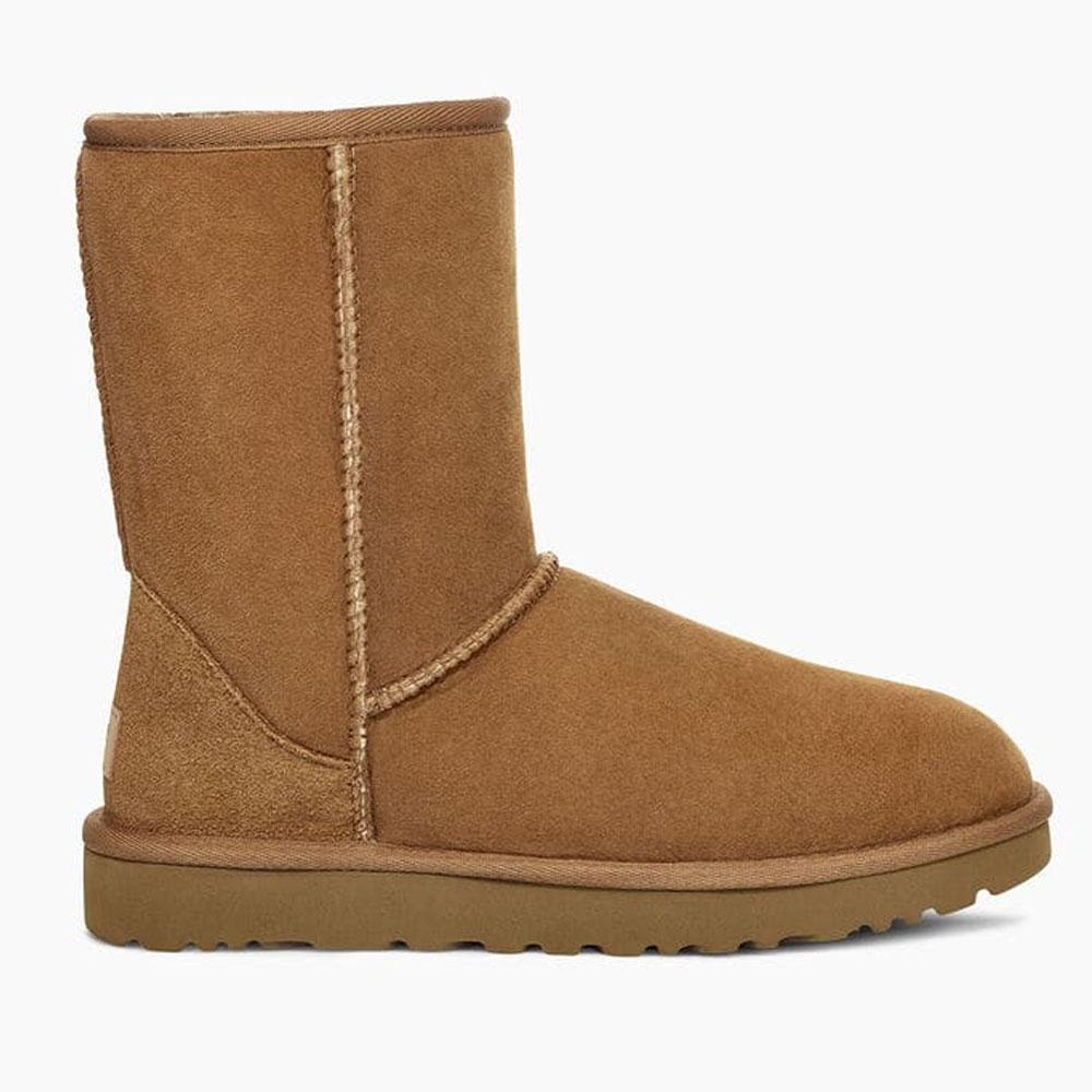 Ugg Low heels UGG CLASSIC SHORT II BOOTS, COLOUR: CHESTNUT