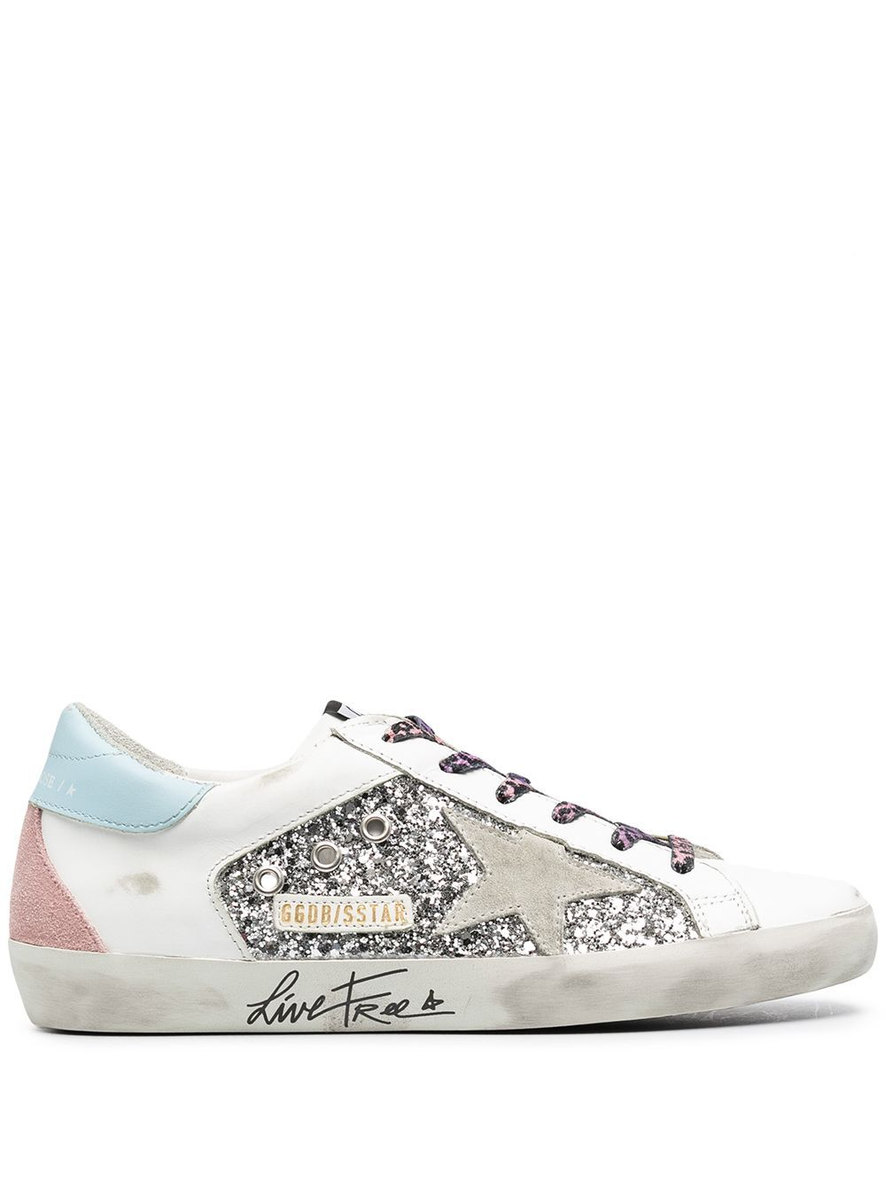 Golden Goose GOLDEN GOOSE WOMEN'S GWF00104F00028480287 WHITE LEATHER SNEAKERS